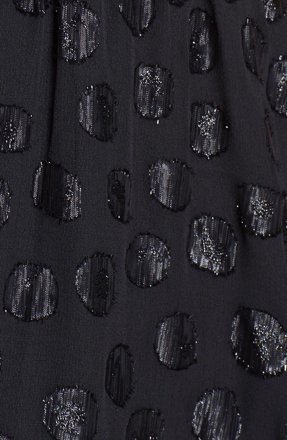 Alternate Image 3  - Dress the Population 'Evan' Metallic Dot Maxi Dress