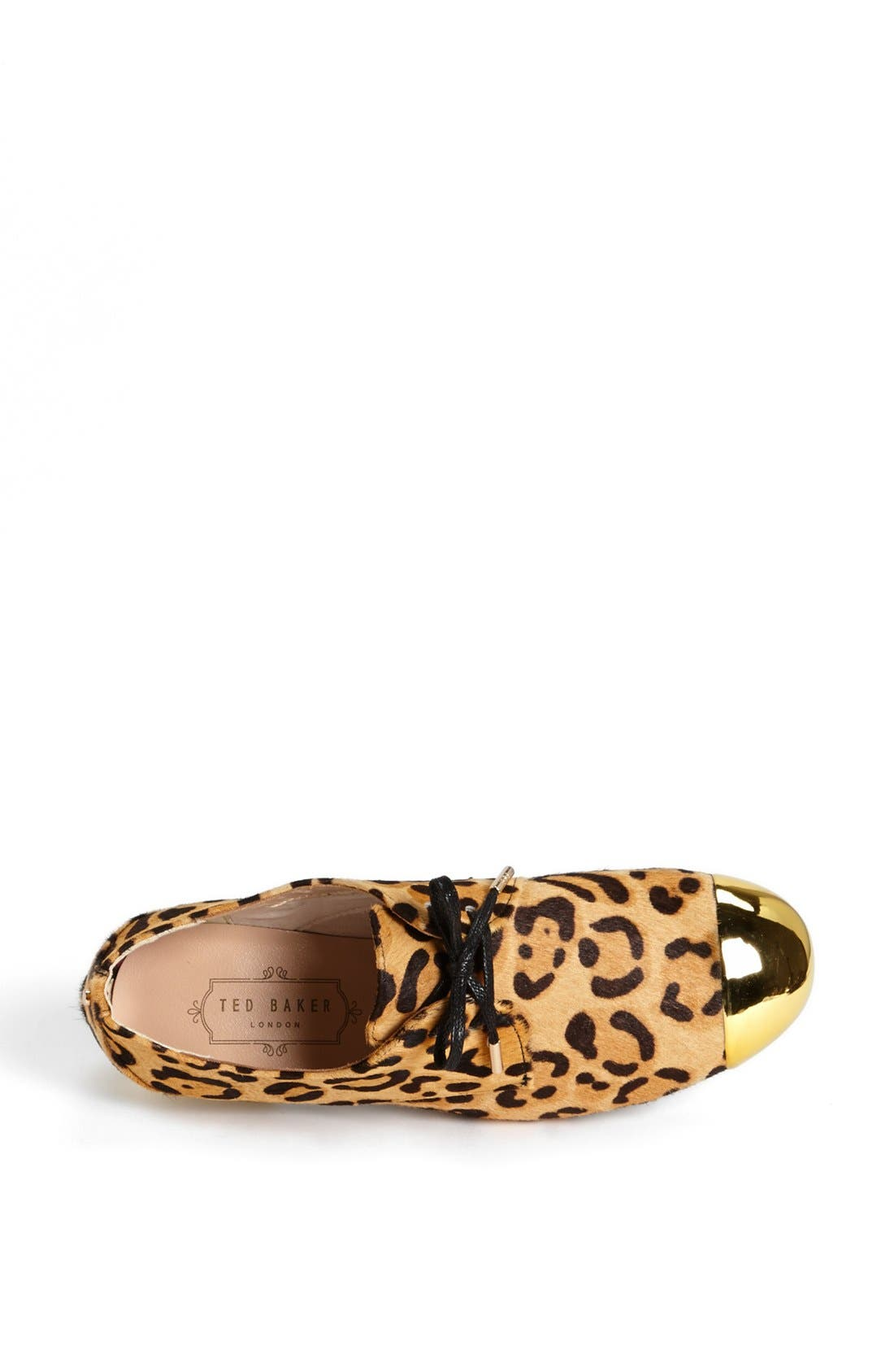 Alternate Image 3  - Ted Baker London 'Kape 2' Genuine Calf Hair Flat