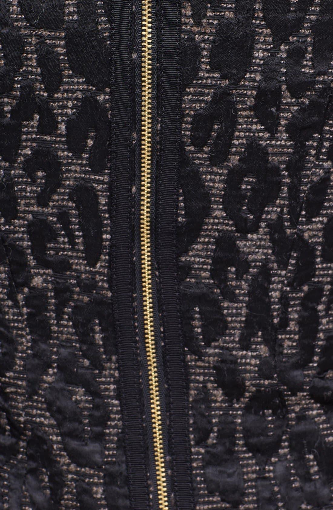 Alternate Image 3  - Trina Turk 'Sharise' Jacquard Sheath Dress