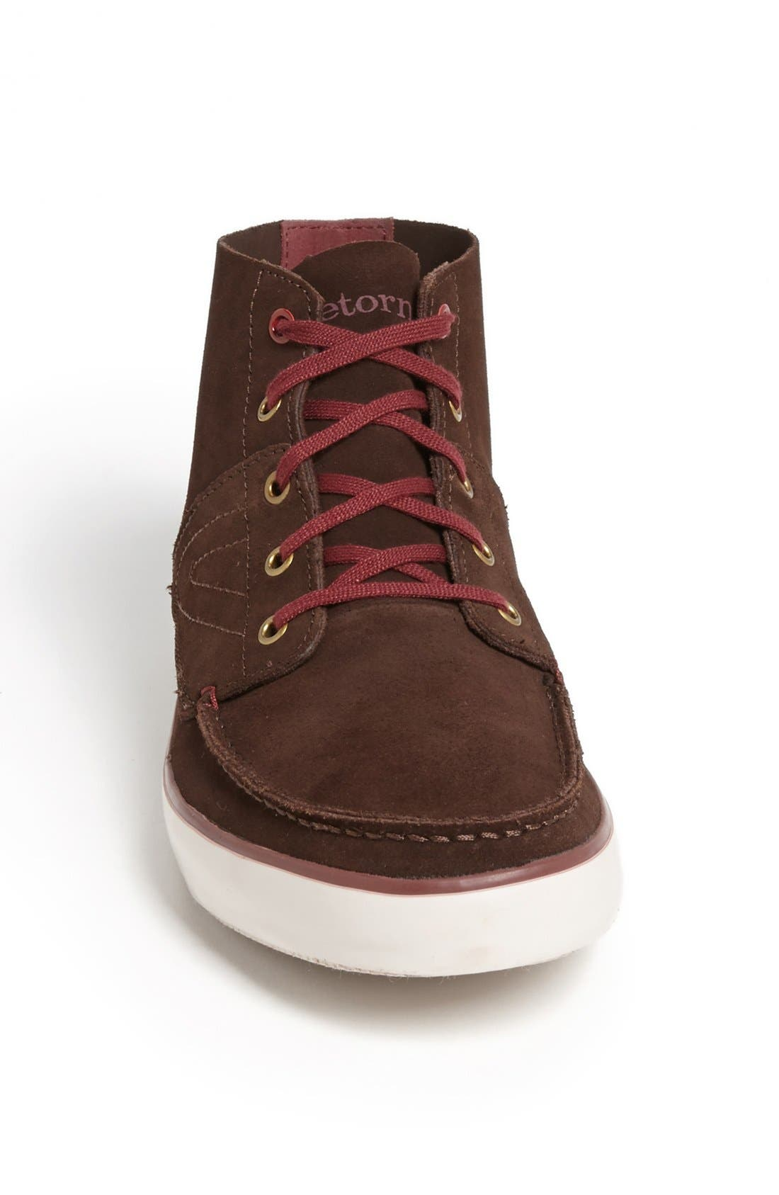 Alternate Image 3  - Tretorn 'Otto Mid' Suede Sneaker (Men)