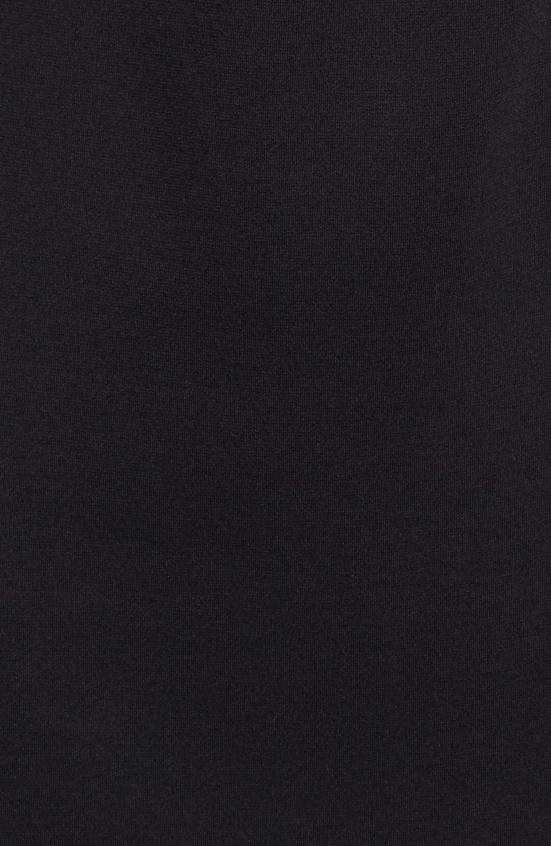 Alternate Image 3  - Vince Camuto Spiked Shoulder Ponte Knit Sheath Dress