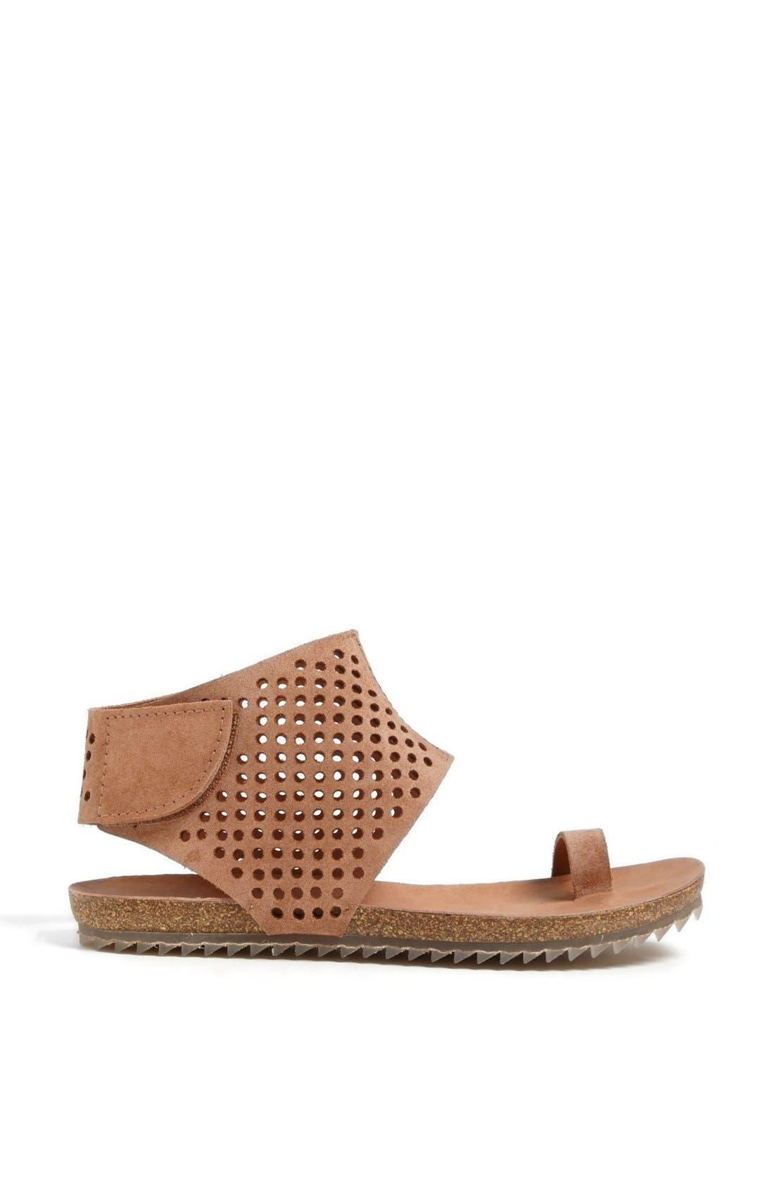 Alternate Image 4  - Pedro Garcia Perforated Ankle Cuff Sandal (Women)