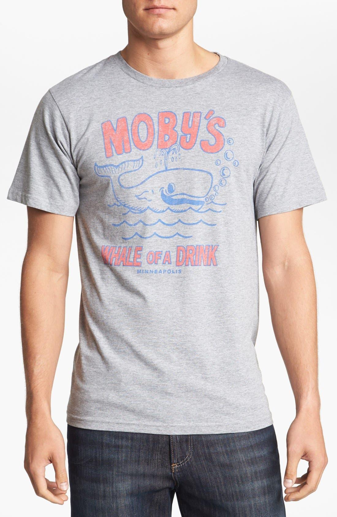 Alternate Image 1 Selected - Horses Cut Shop 'Moby Dick's' T-Shirt