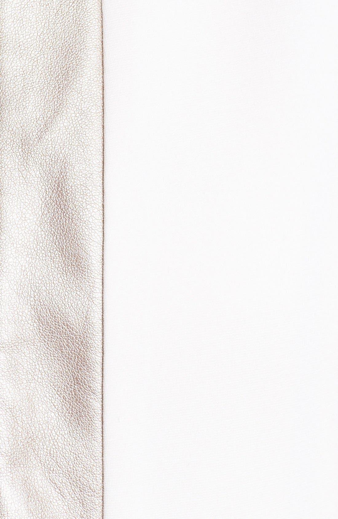 Alternate Image 3  - Ella Moss 'Sandra' Metallic Trim Blazer