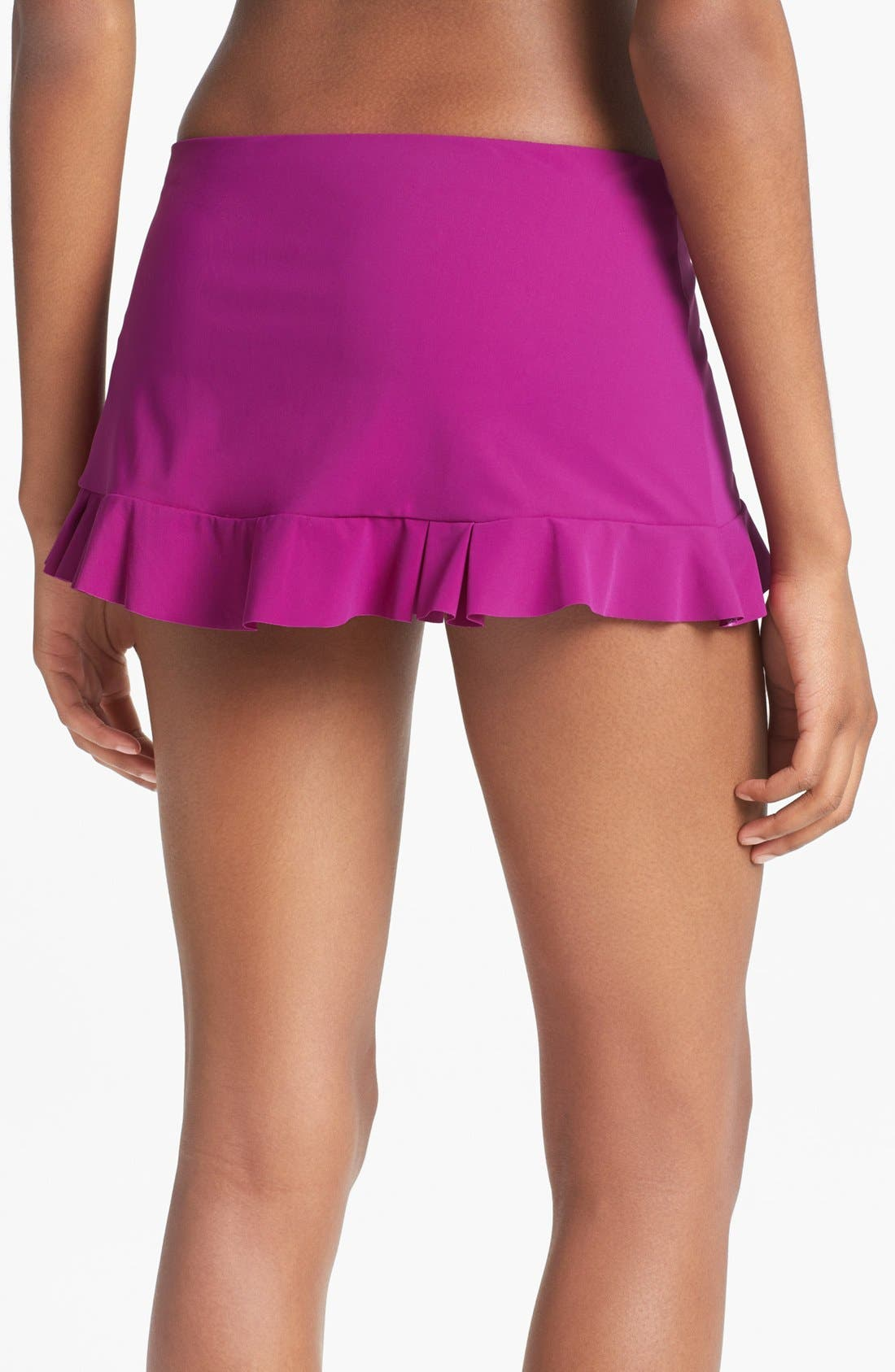 Alternate Image 2  - Profile by Gottex 'Starlet' Skirted Bikini Bottoms