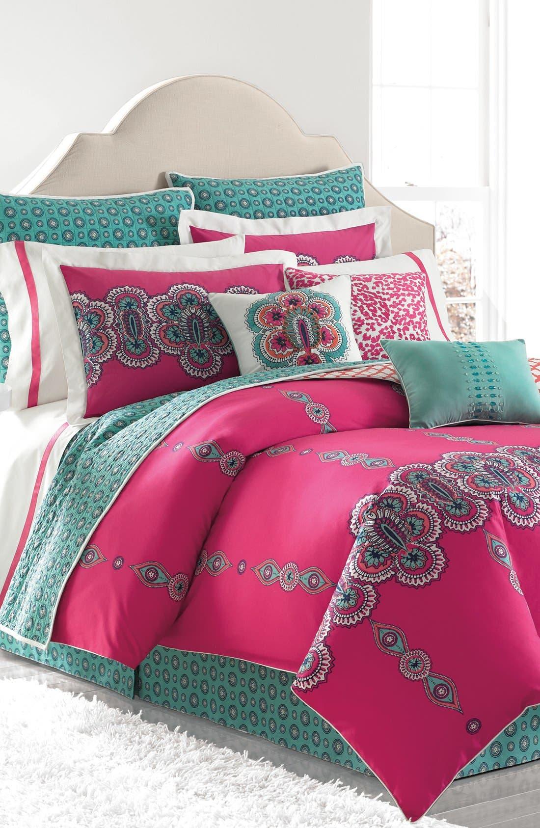 Alternate Image 1 Selected - Laundry by Shelli Segal 'Shiva' Duvet Cover