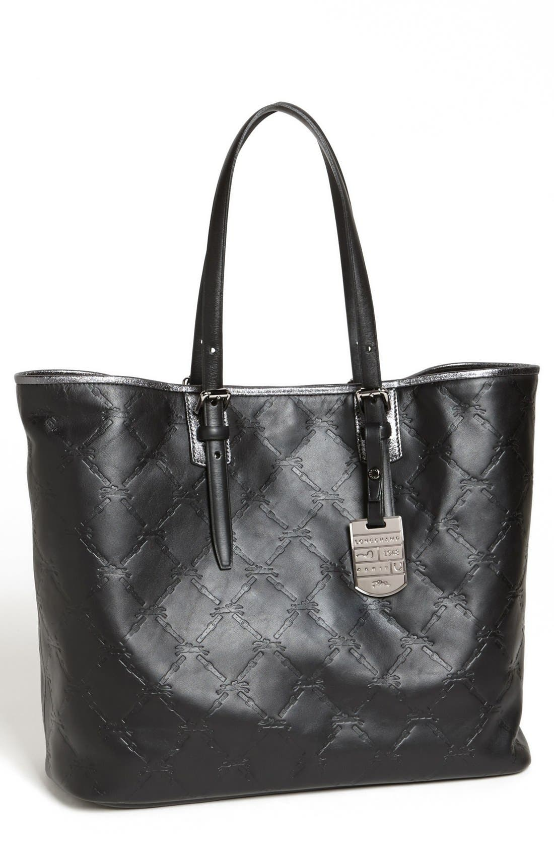 Alternate Image 1 Selected - Longchamp 'LM Cuir - Medium' Leather Tote