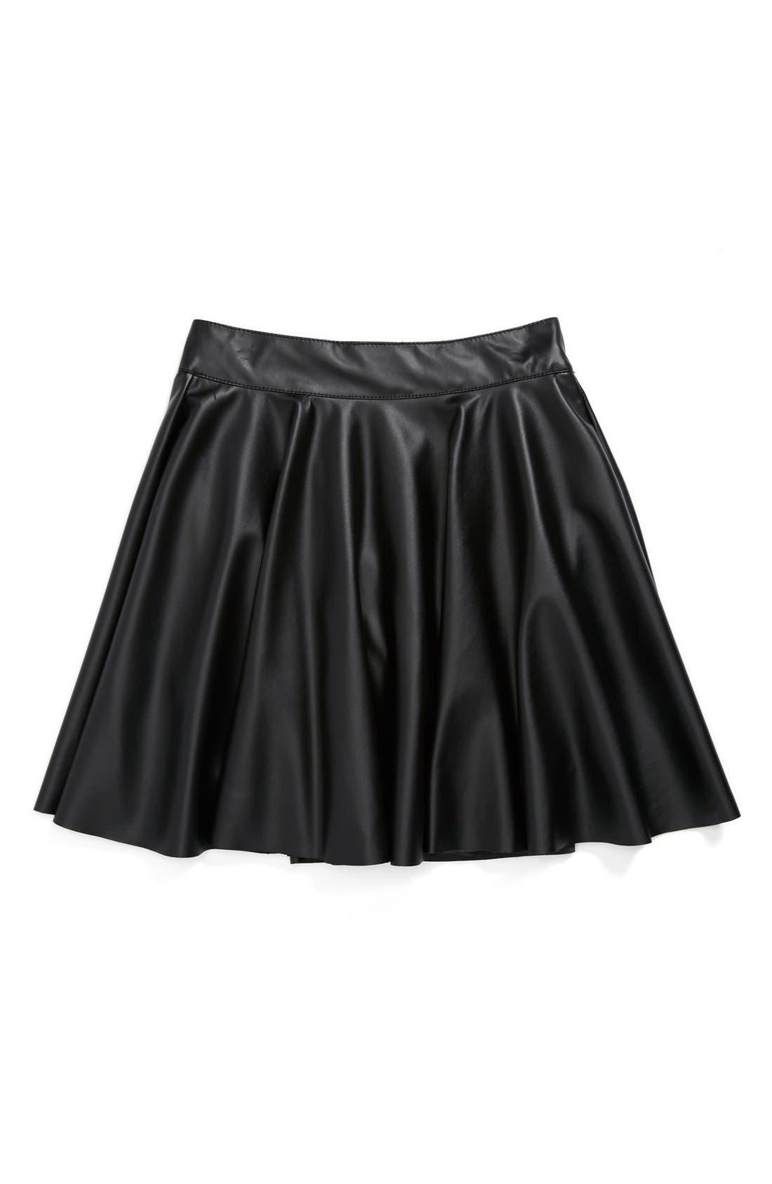 Alternate Image 1 Selected - Un Deux Trois 'Flirt' Skirt (Big Girls)