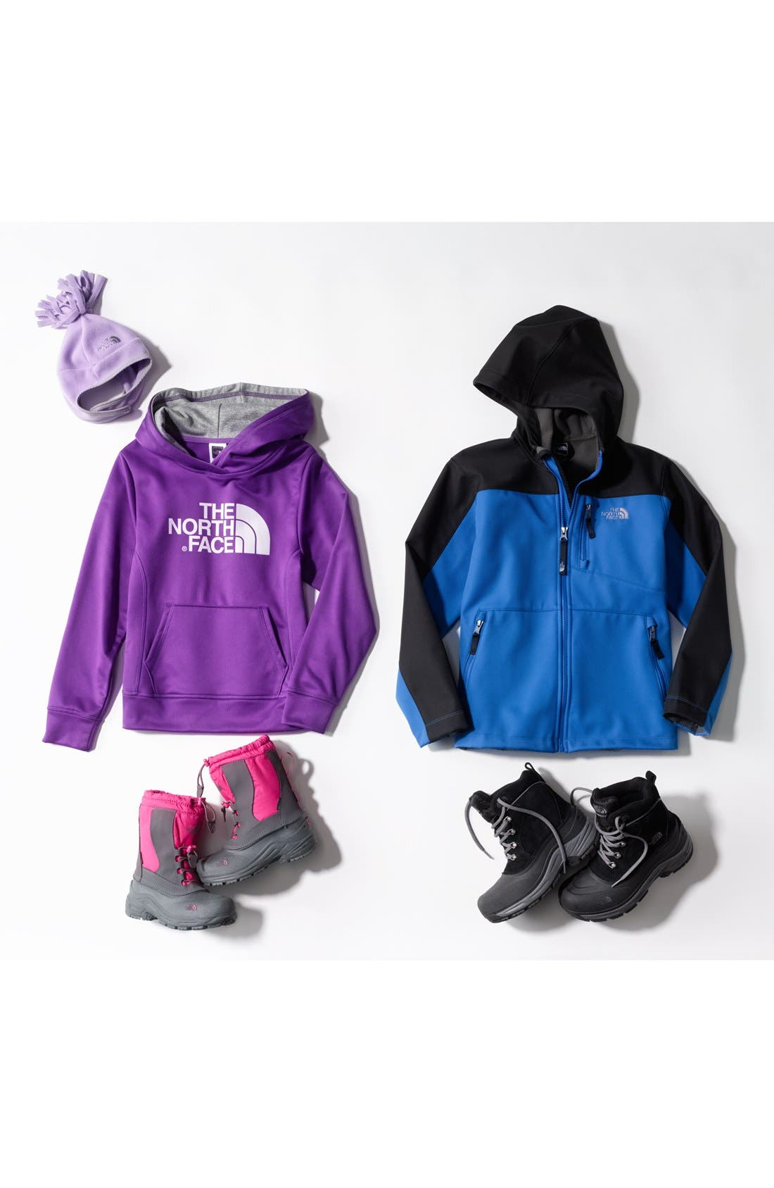 Alternate Image 2  - The North Face 'Apex Bionic' Hooded Jacket (Little Boys & Big Boys) (Nordstrom Exclusive)