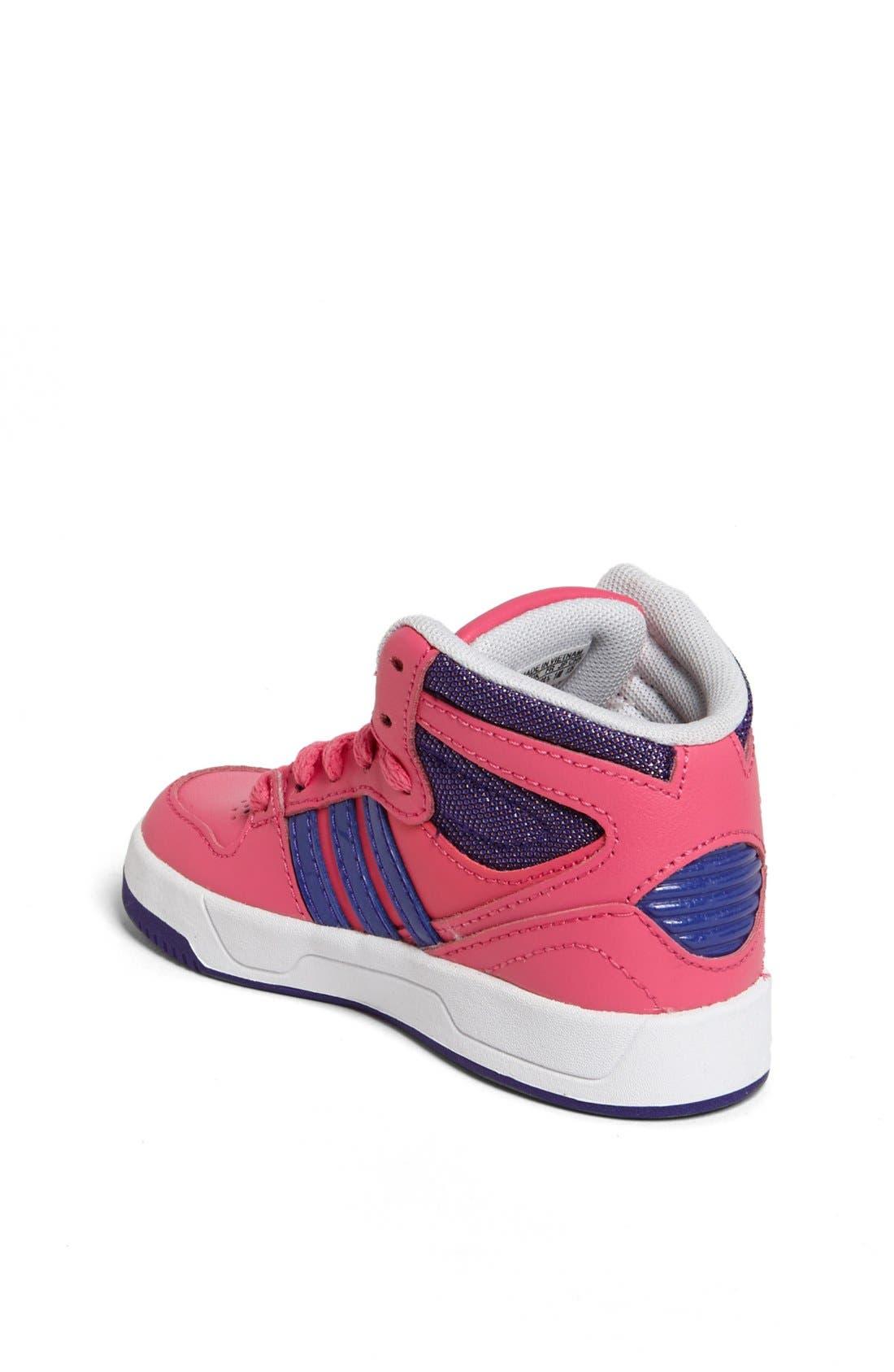 Alternate Image 2  - adidas 'Court Attitude' Sneaker (Baby, Walker & Toddler)