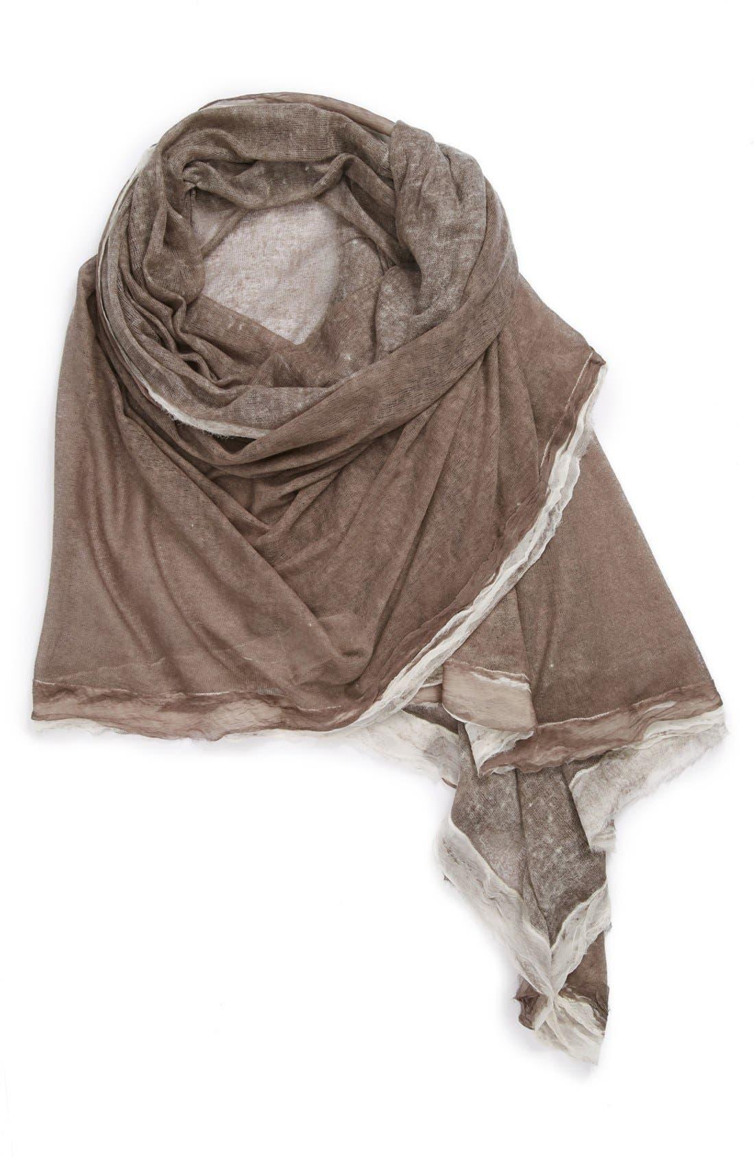 Alternate Image 1 Selected - La Fiorentina Silk & Cashmere Wrap