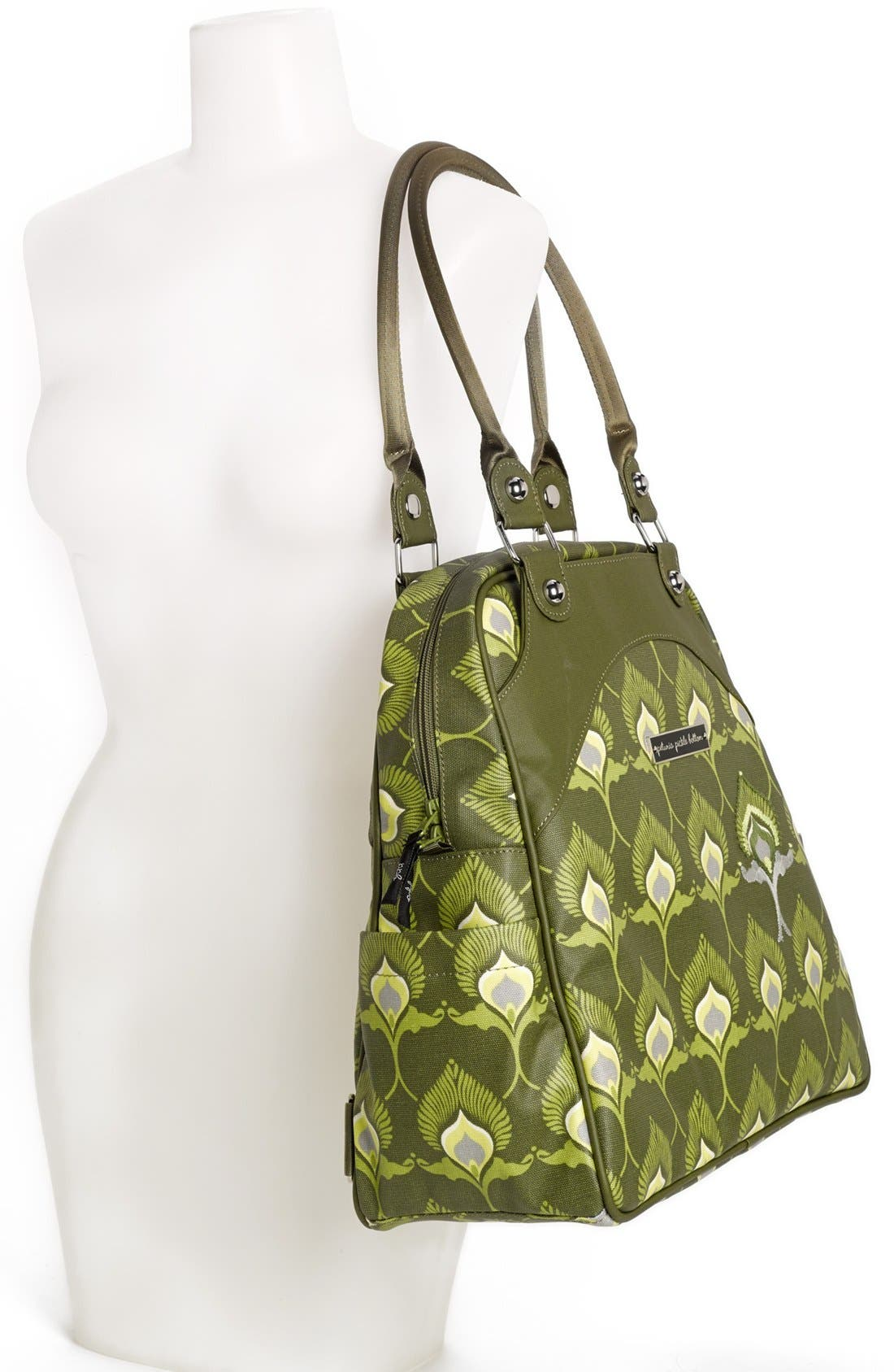 Alternate Image 2  - Petunia Pickle Bottom 'Glazed Sashay' Convertible Diaper Bag/Satchel