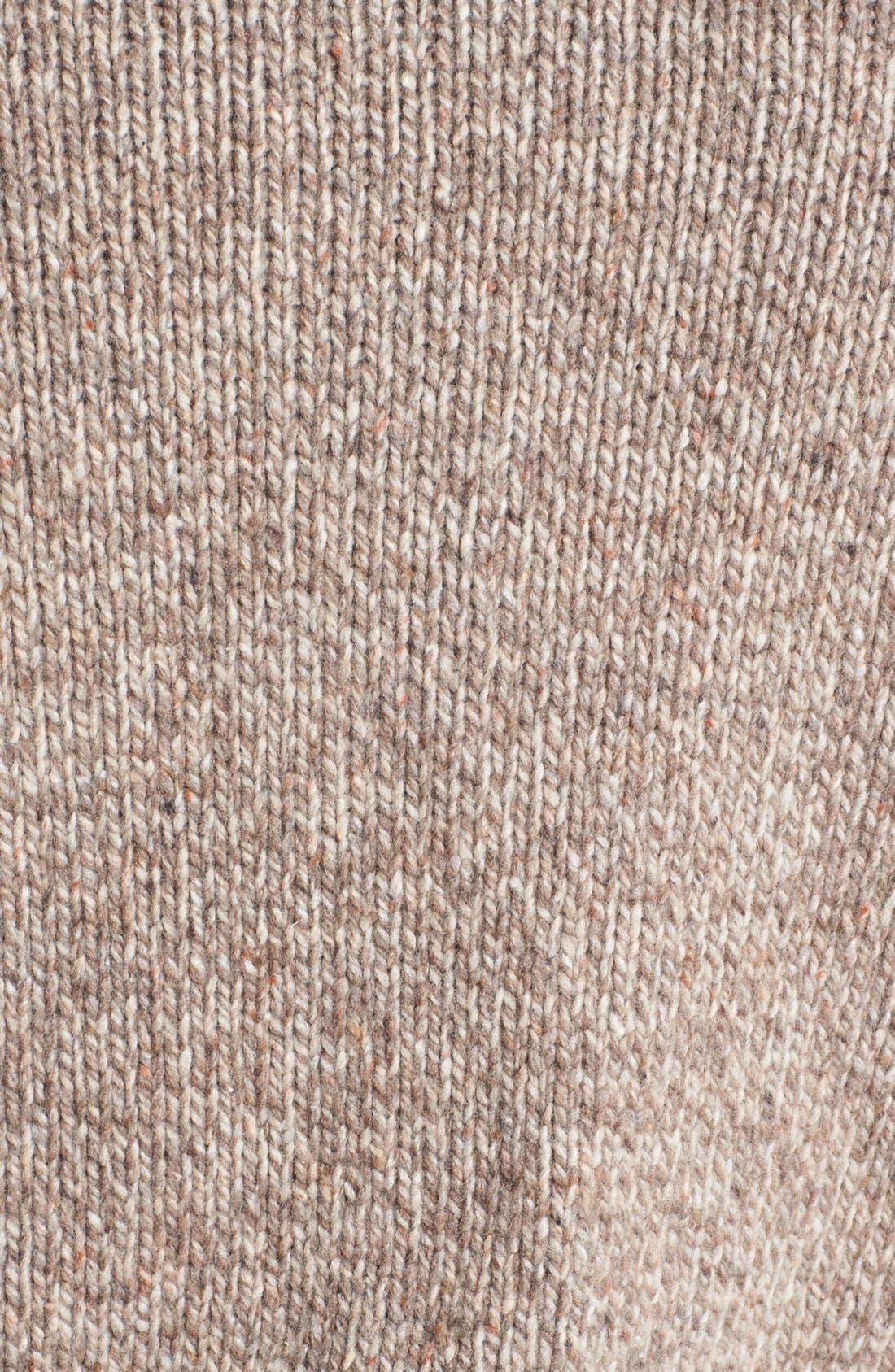 Alternate Image 3  - BOSS Orange 'Ajeno' Quarter Zip Tweed Yarn Sweater