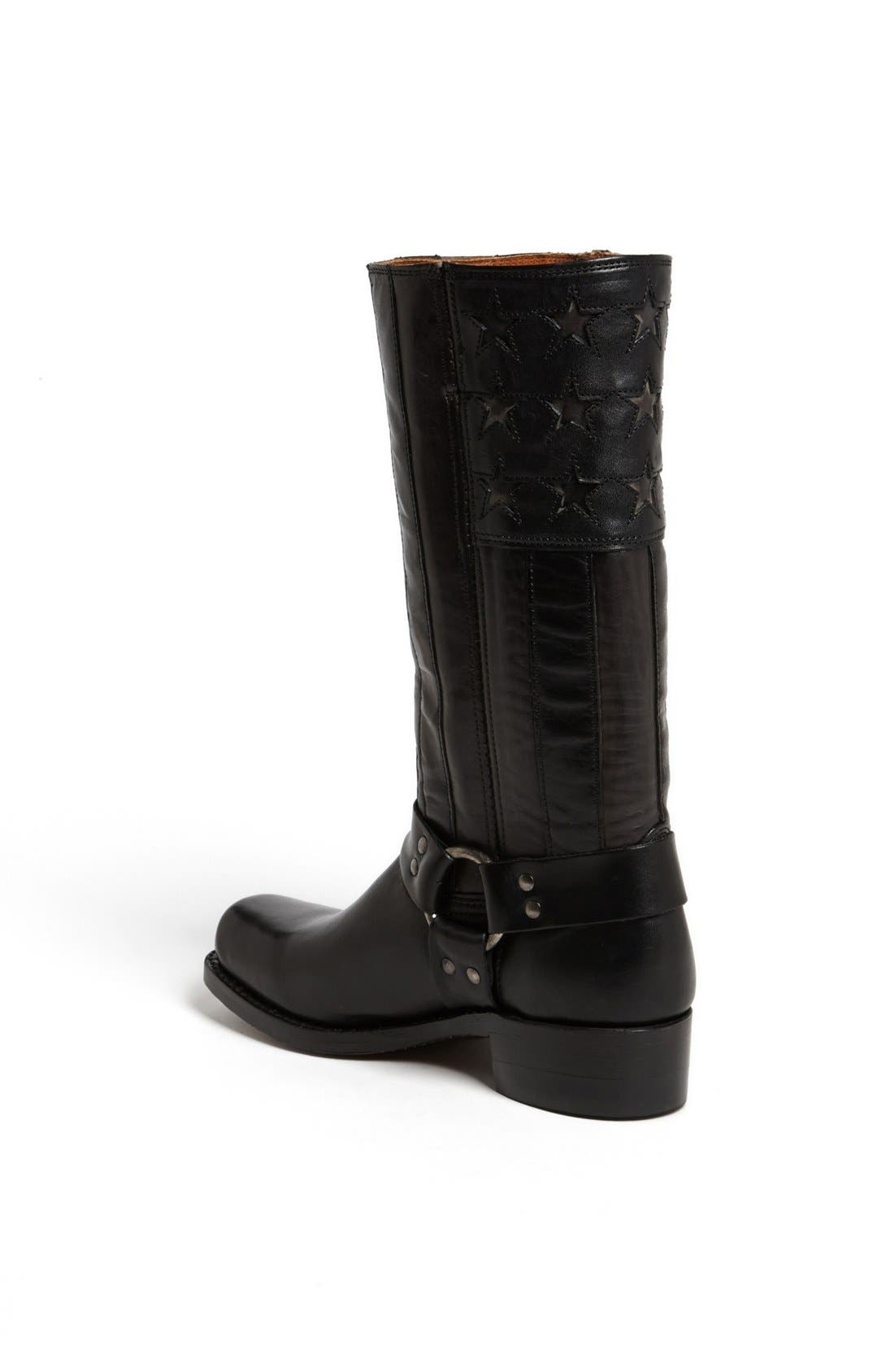 Alternate Image 2  - Frye 'Americana' Harness Boot (Limited Edition)