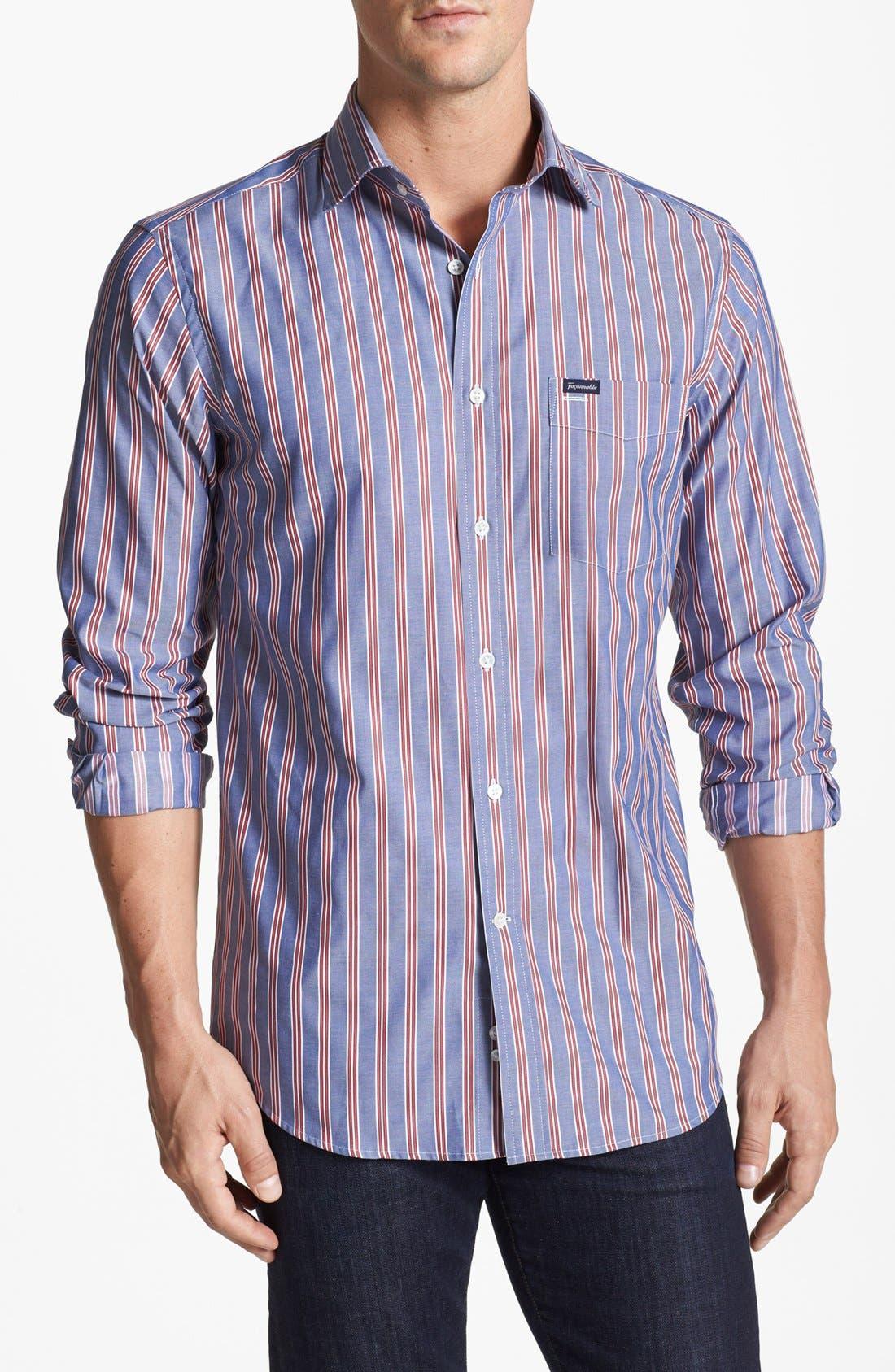 Main Image - Façonnable Club Fit Sport Shirt