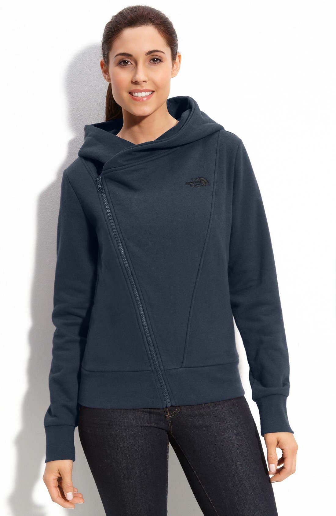Alternate Image 1 Selected - The North Face 'Bon Bonnie' Zip Hoodie