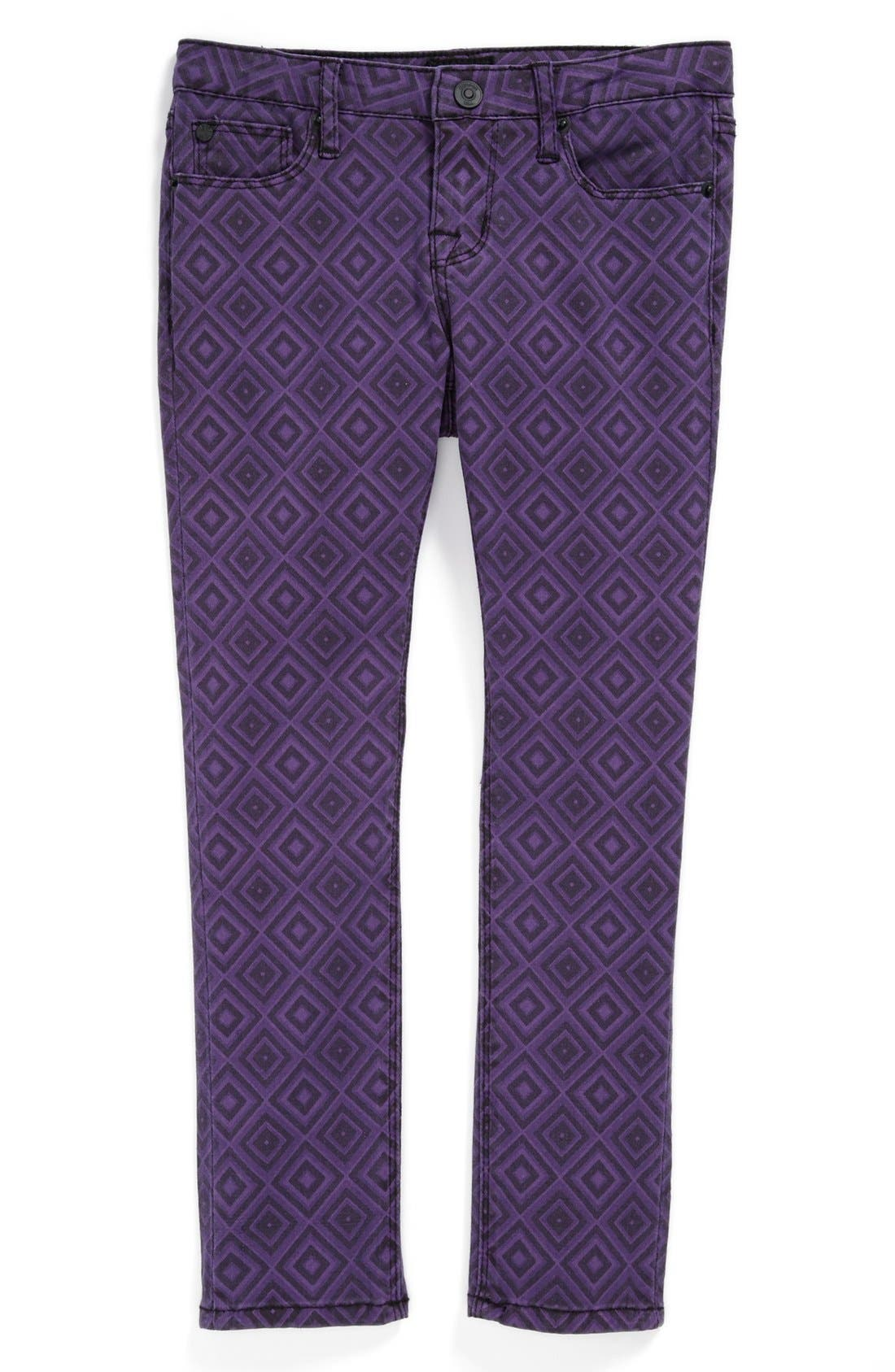 Alternate Image 2  - Hudson Kids 'Dolly' Skinny Jeans (Little Girls)