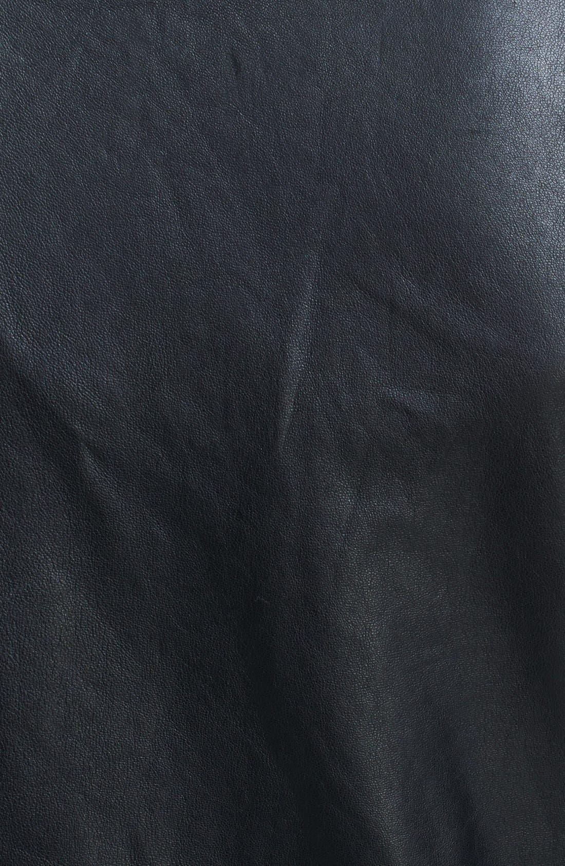 Alternate Image 3  - Roberto Cavalli Fringe Detail Leather Jacket