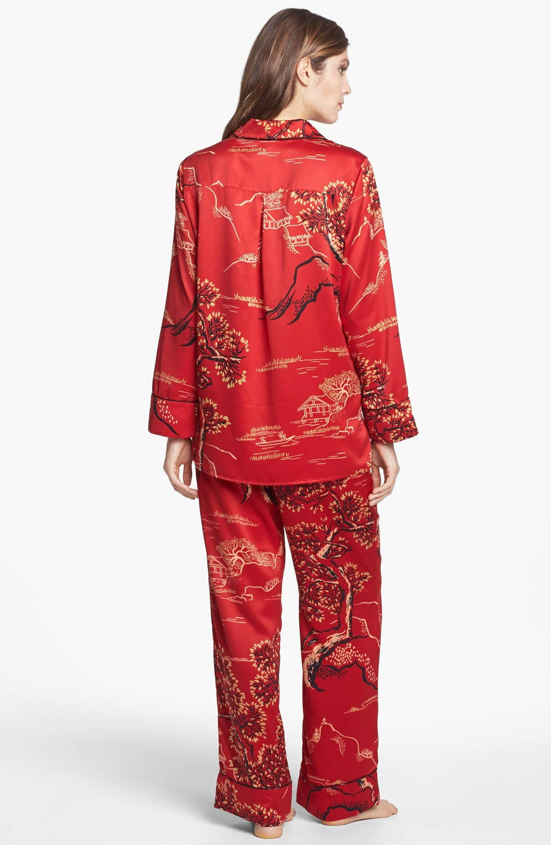 Alternate Image 2  - Natori 'Pagoda' Pajamas