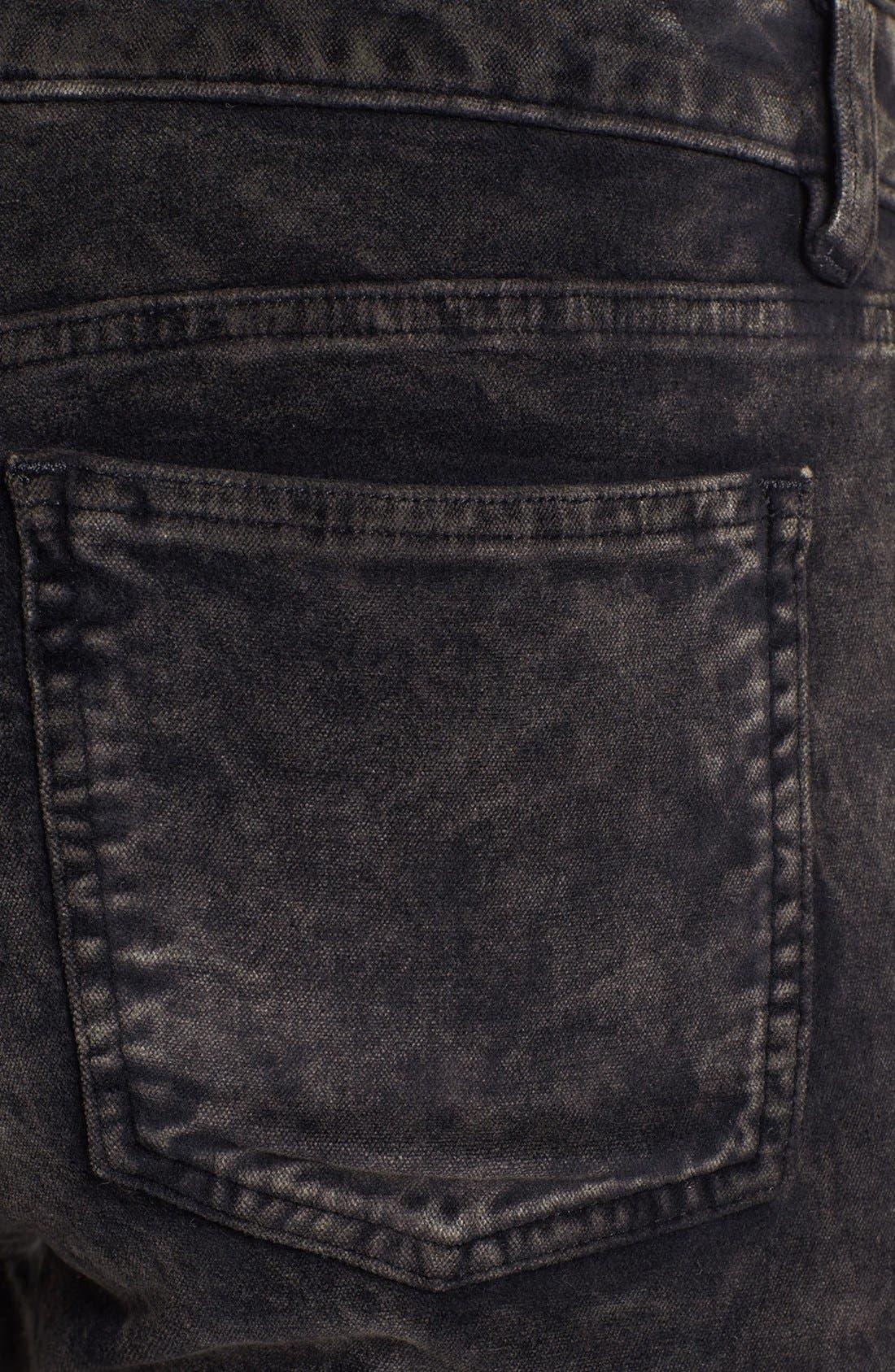 Alternate Image 3  - Eileen Fisher Stretch Velveteen Skinny Jeans