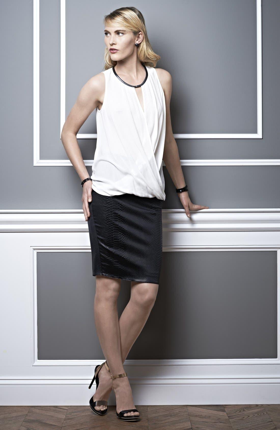 Alternate Image 1 Selected - Ella Moss Tank & Bailey 44 Skirt