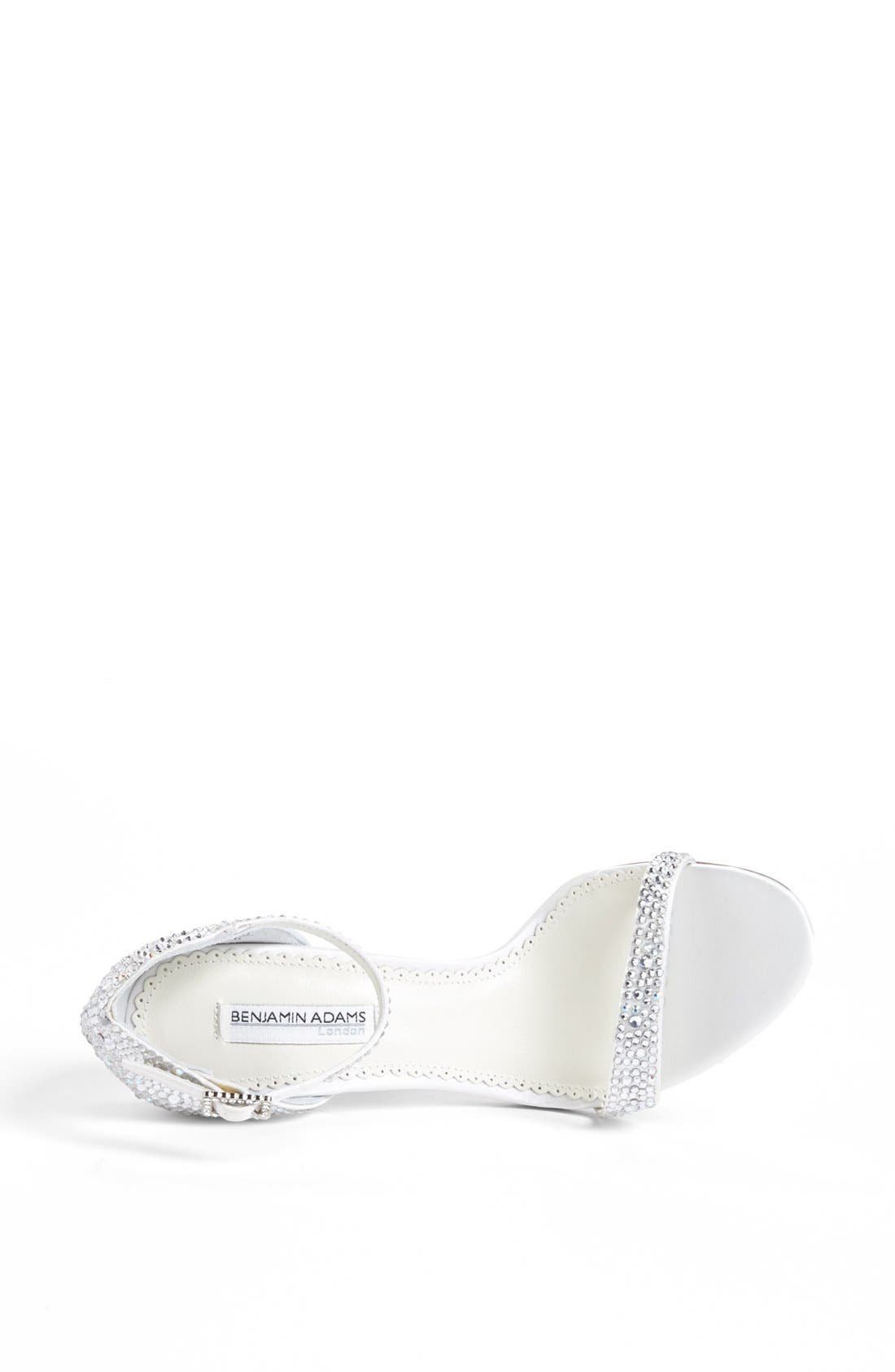 Benjamin Adams Sandal,                             Alternate thumbnail 3, color,                             Ivory