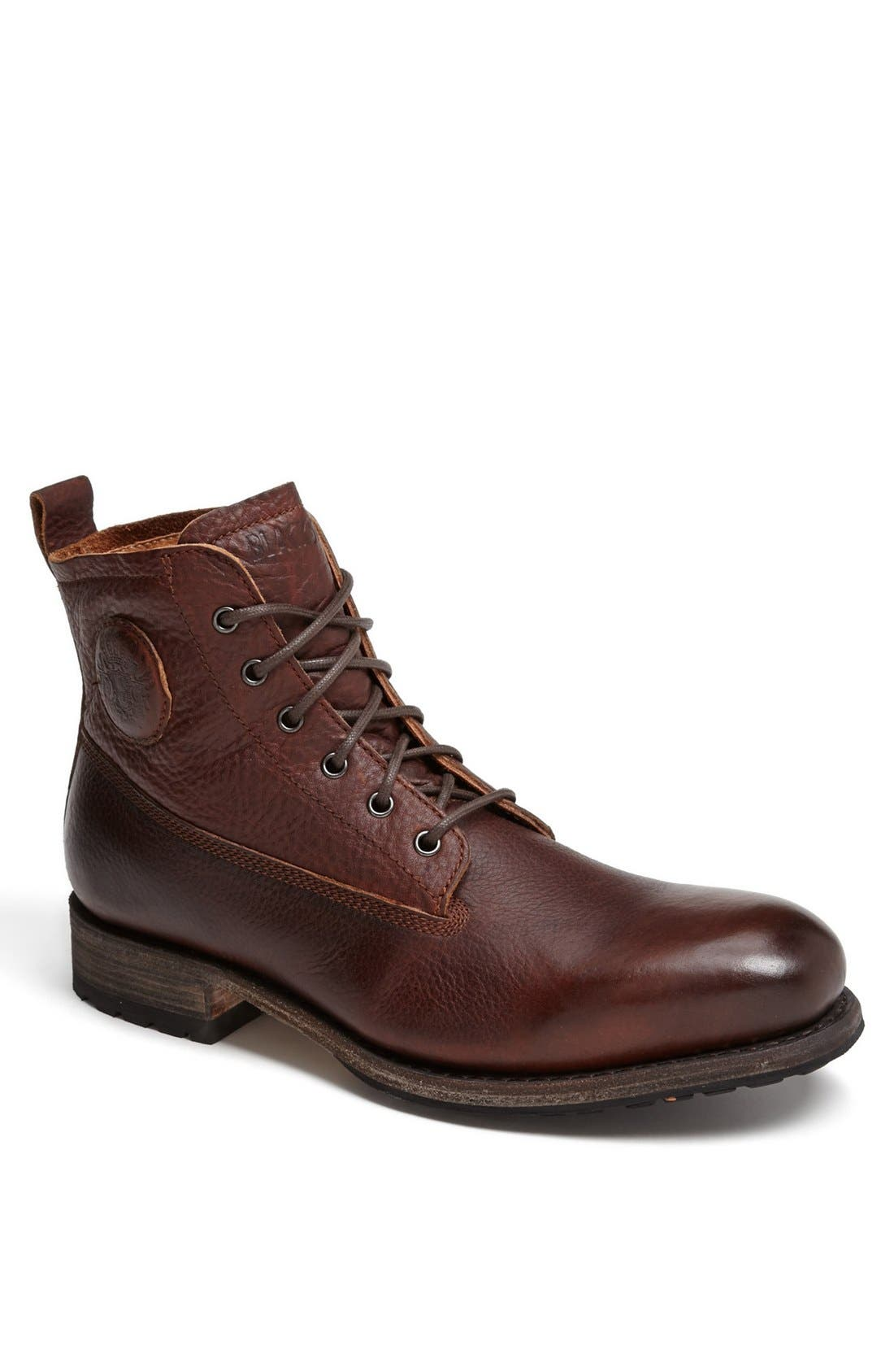 'GM 09' Plain Toe Boot,                         Main,                         color, Old Yellow