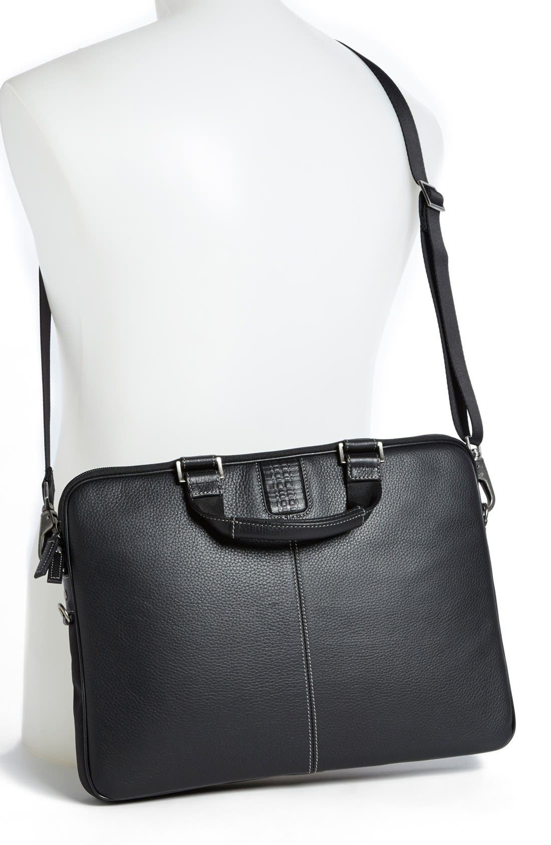 Alternate Image 2  - Boconi 'Tyler' Leather Laptop Briefcase