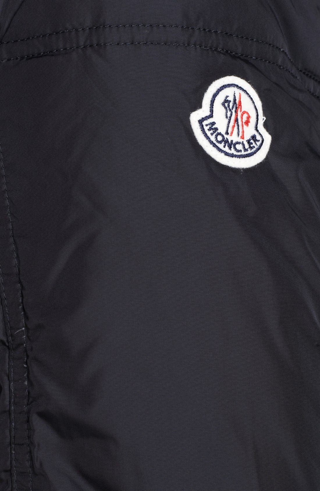 Alternate Image 3  - Moncler 'Tours' Down Moto Jacket