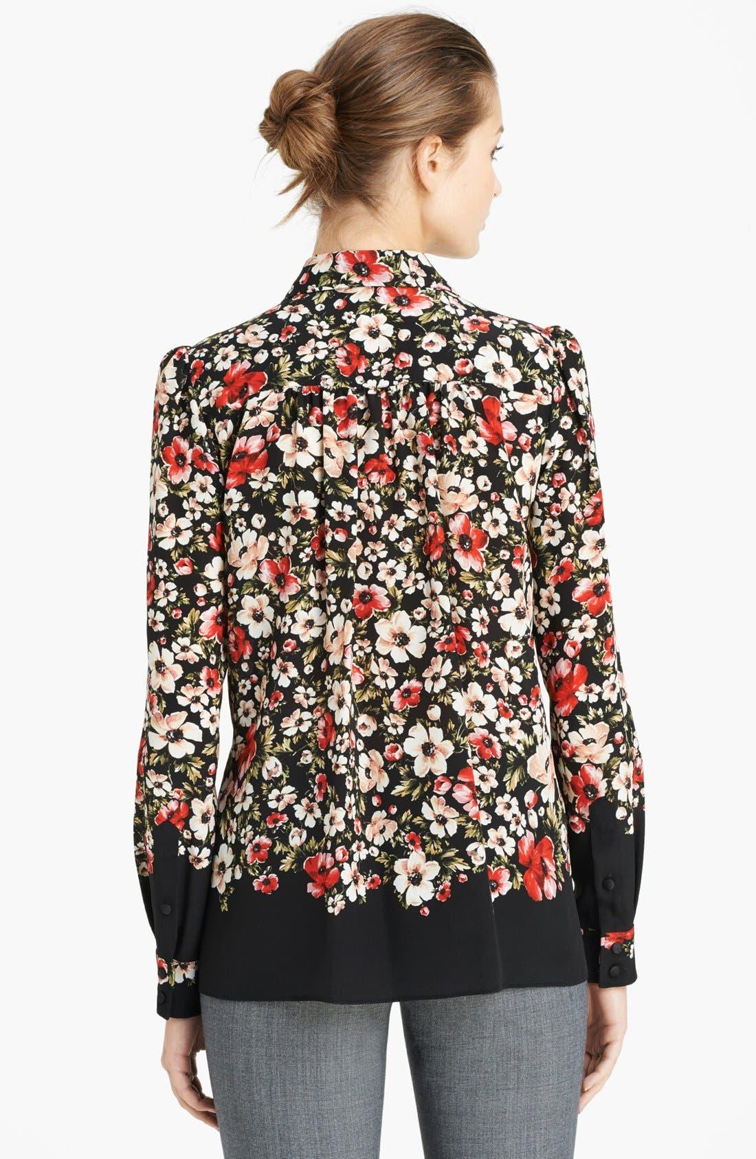 Alternate Image 2  - Dolce&Gabbana Floral Print Blouse