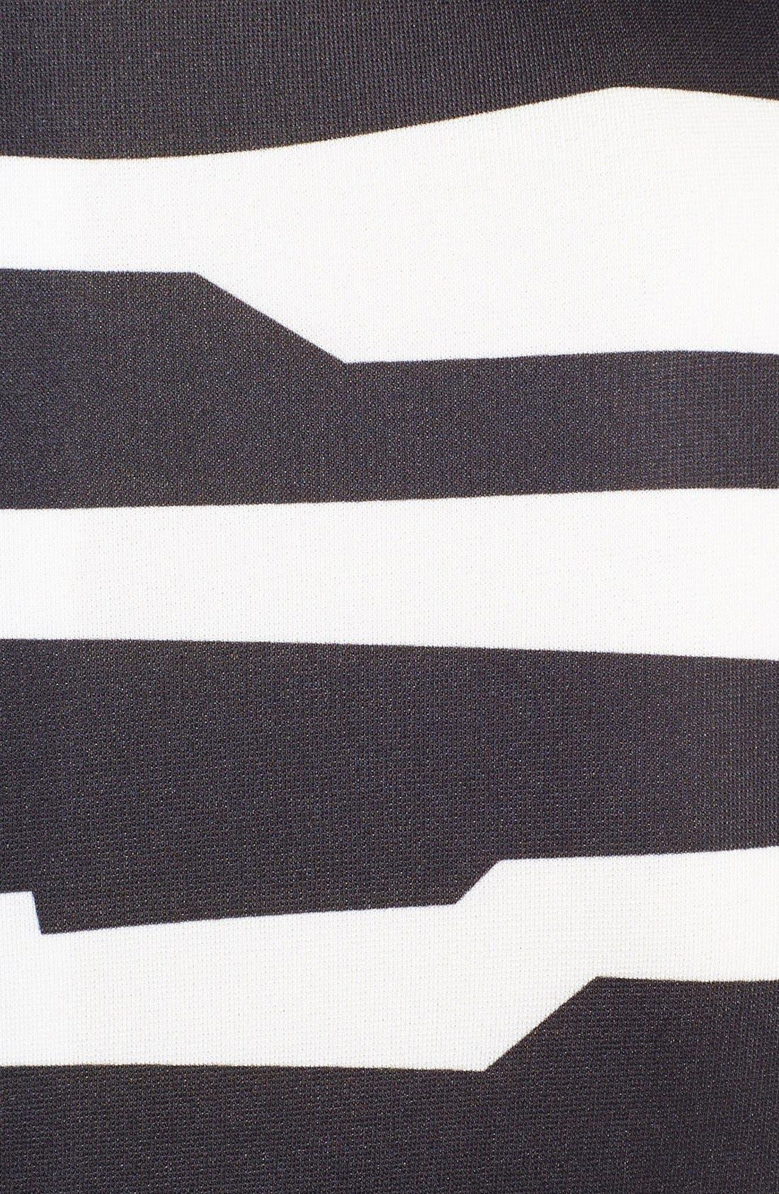 Alternate Image 3  - Tahari Belted Print Scuba Sheath Dress