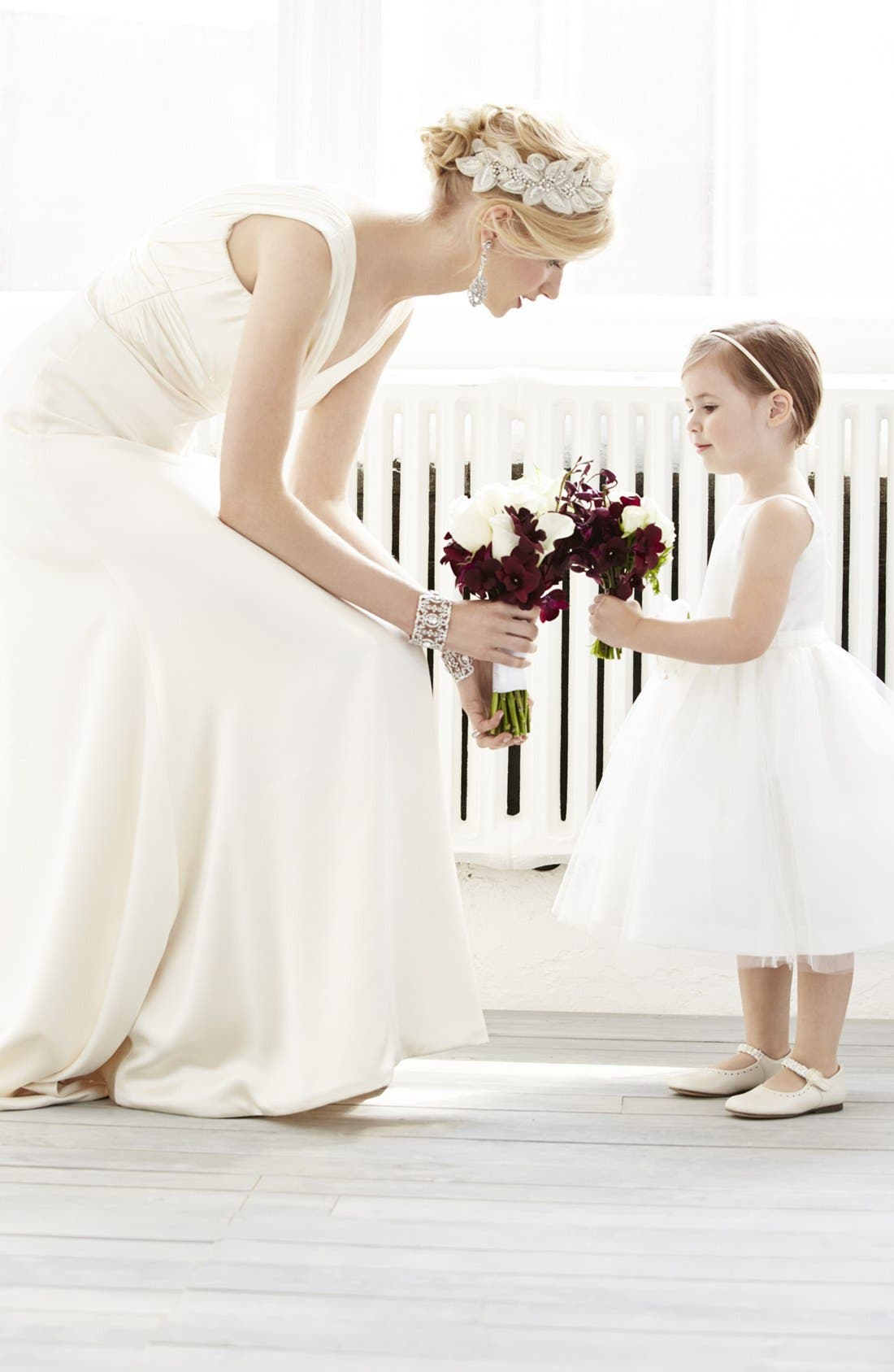 Alternate Image 2  - Us Angels Tulle Ballerina Dress (Toddler Girls, Little Girls & Big Girls)