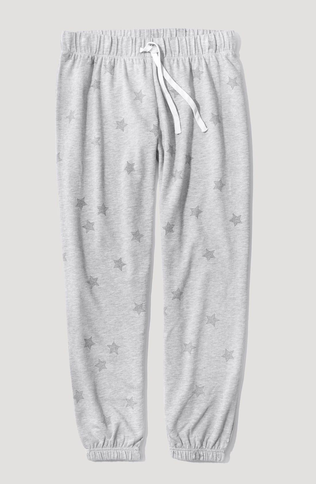 Alternate Image 4  - Make + Model 'Jogger' Fleece Pants