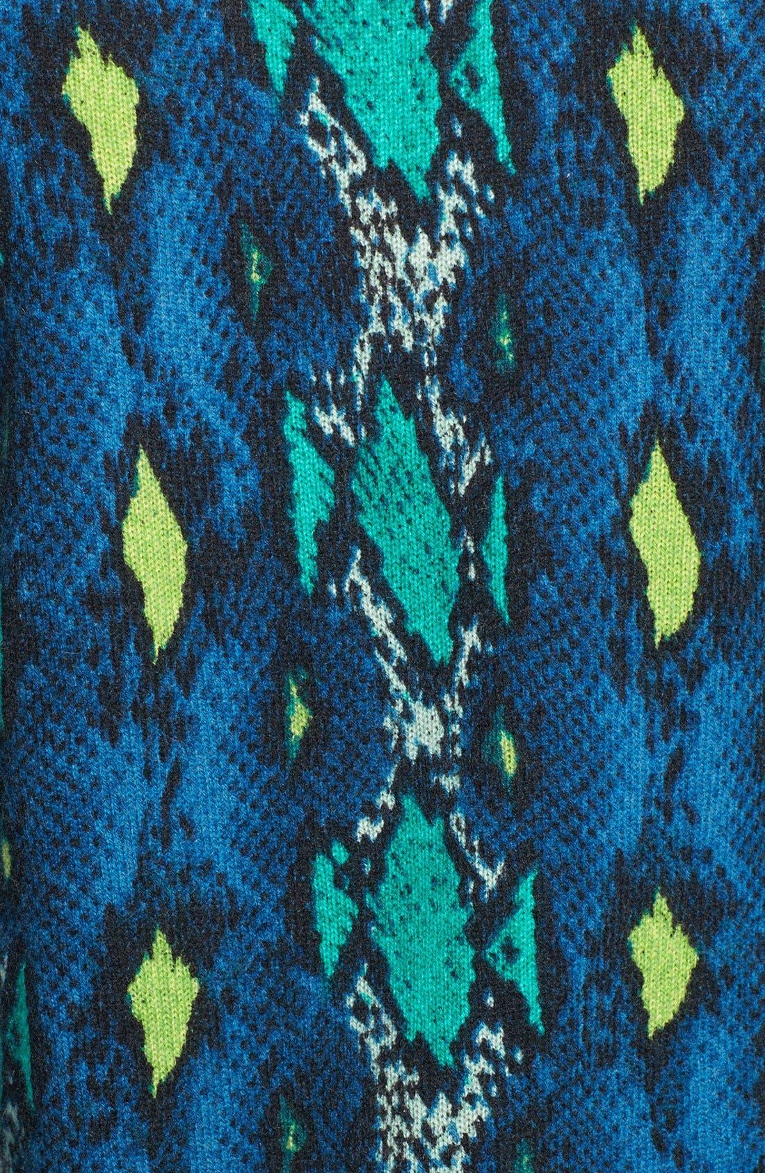 Alternate Image 3  - Equipment 'Sloane' Snake Pattern Cashmere Sweater