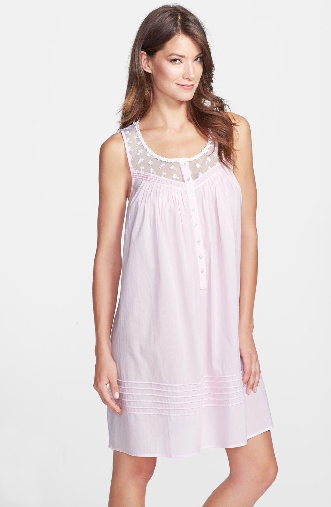 Alternate Image 1 Selected - Eileen West 'Dolce Vita' Short Nightgown