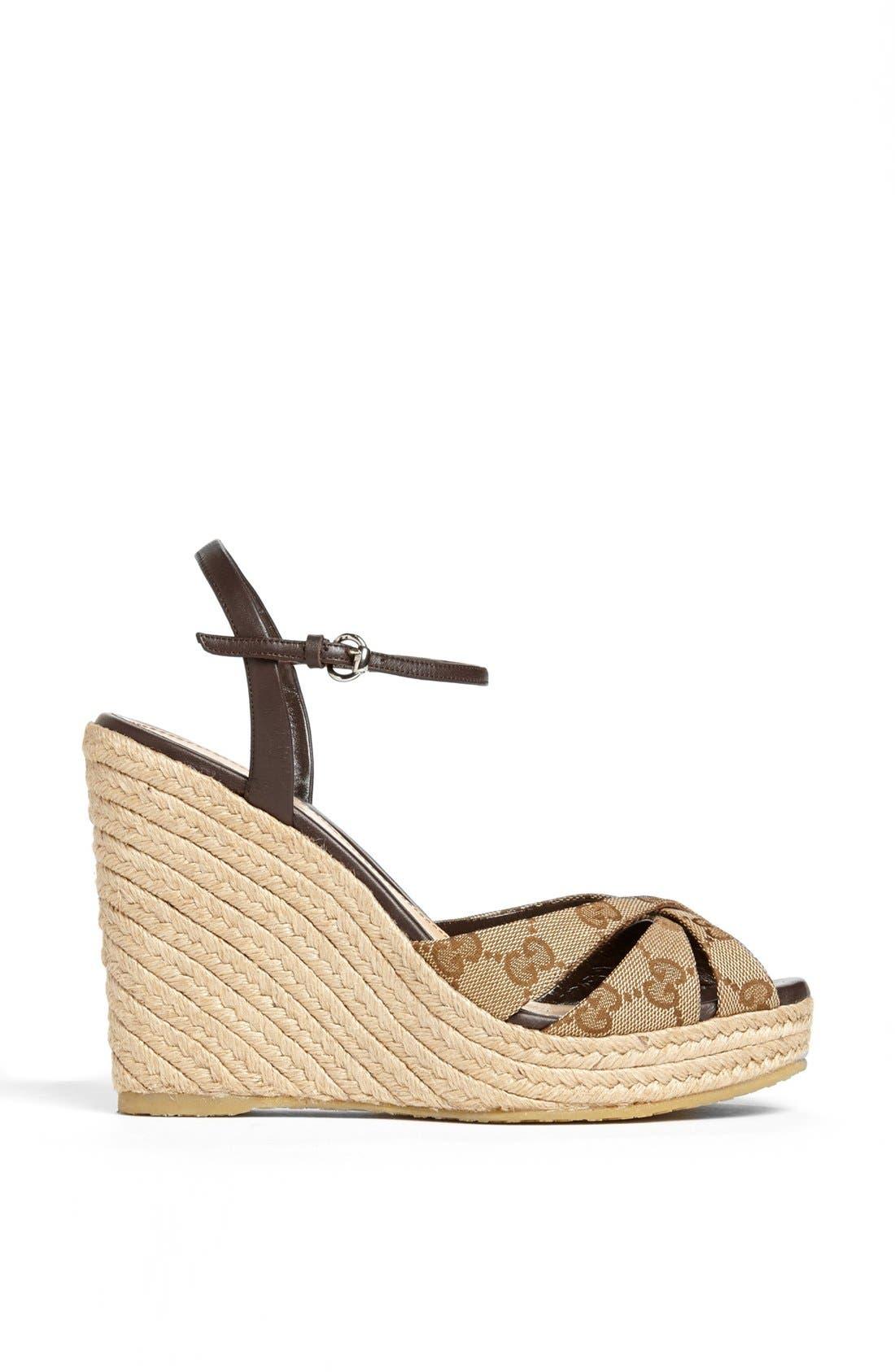 Alternate Image 4  - Gucci 'Penelope' Espadrille Sandal
