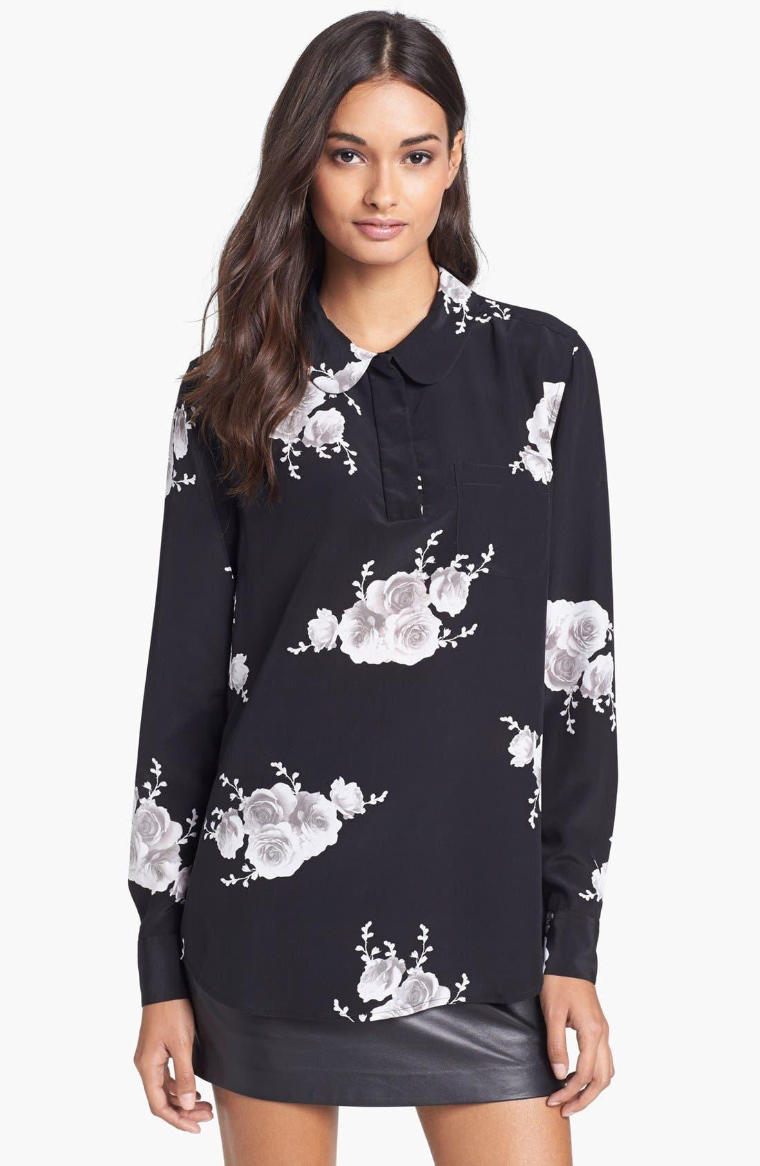Main Image - Equipment 'Adele' Print Silk Shirt