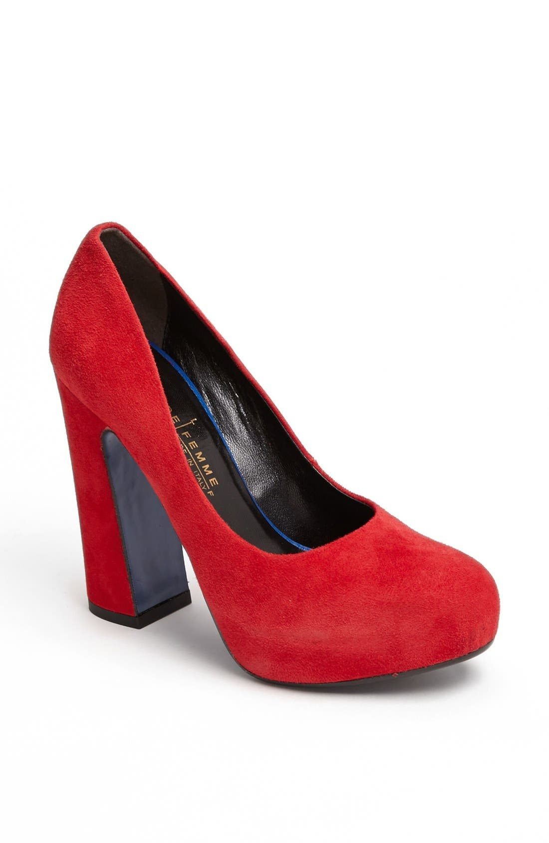 Alternate Image 1 Selected - Latitude Femme Hidden Platform Pump