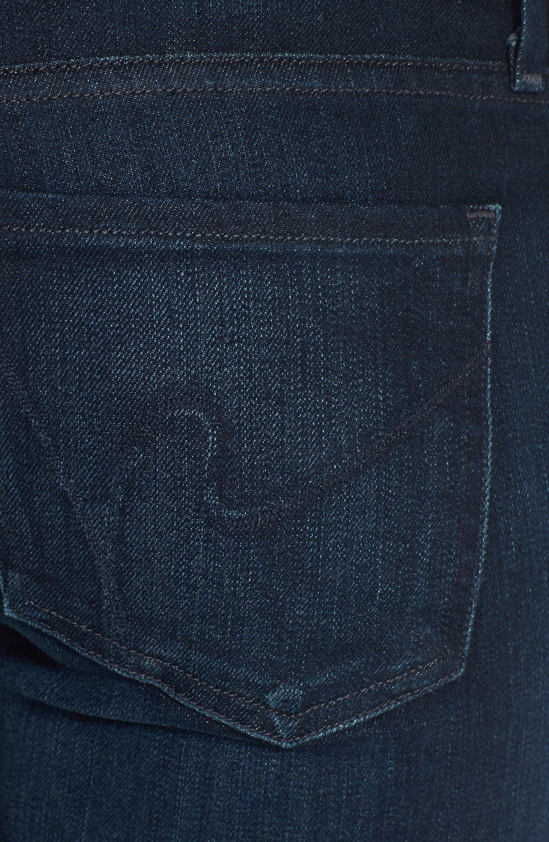 Alternate Image 3  - Citizens of Humanity 'Emmanuelle' Bootcut Jeans (Space) (Petite)
