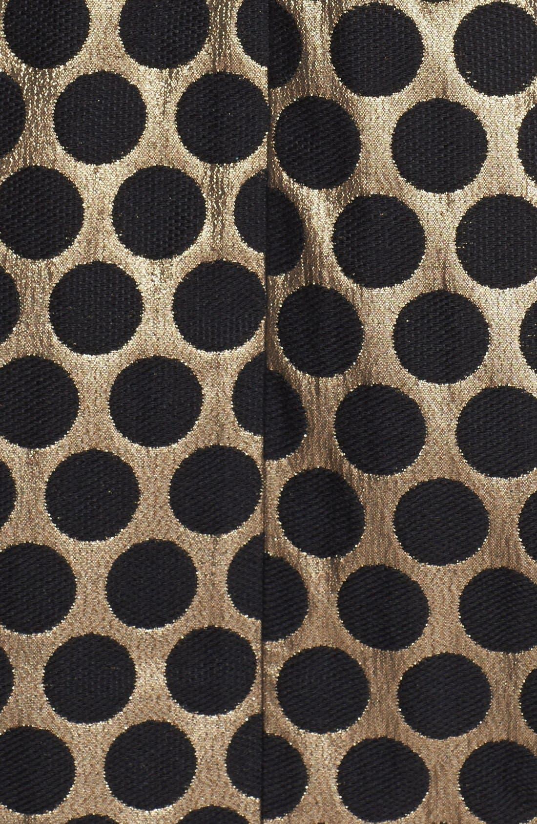 Alternate Image 3  - Eliza J Dot Jacquard Fit & Flare Dress