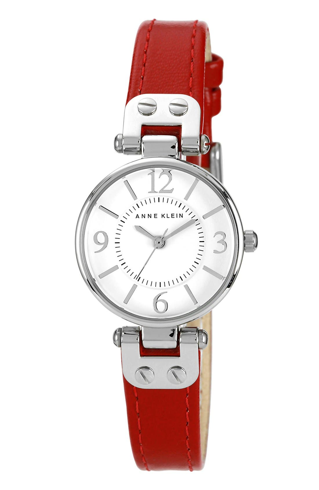 Alternate Image 1 Selected - Anne Klein Hinge Case Watch