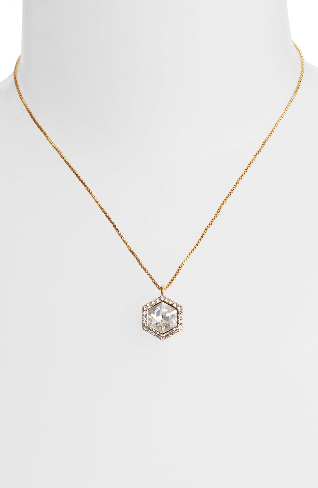 Alternate Image 2  - Vince Camuto 'Diamonds in the Sky' Crystal Pendant Necklace
