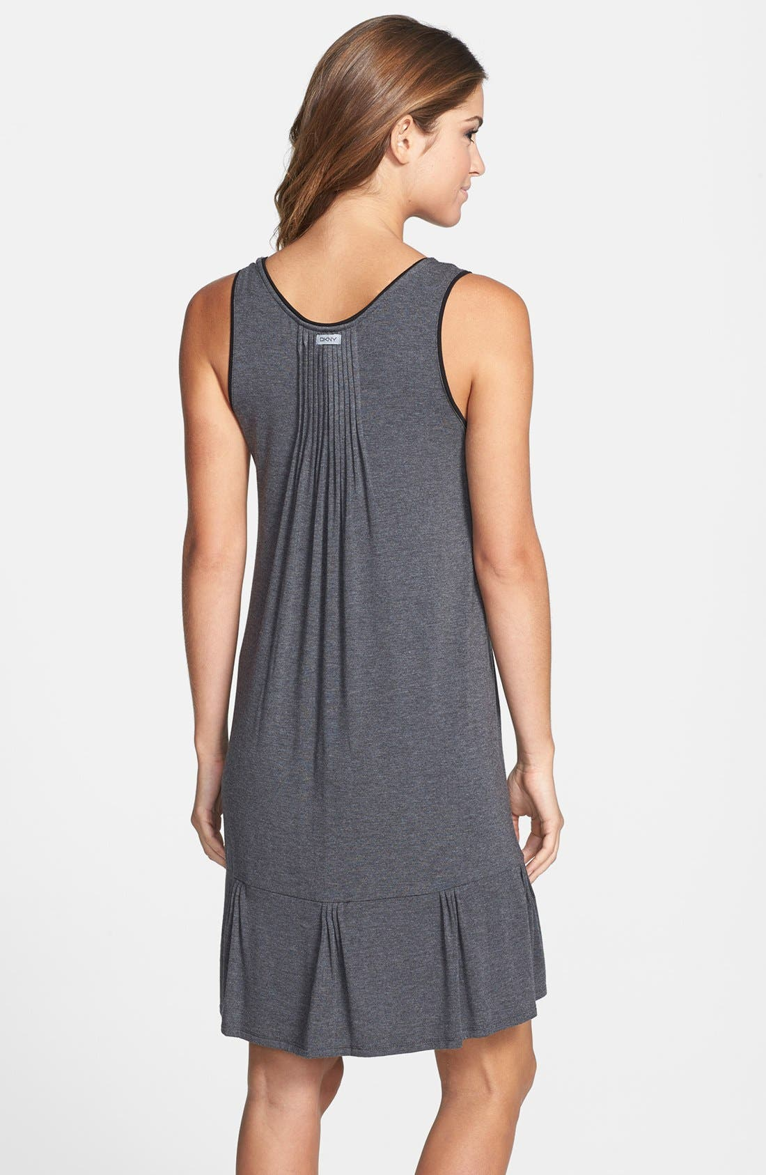 Alternate Image 2  - DKNY '7 Easy Pieces' Pintuck Chemise