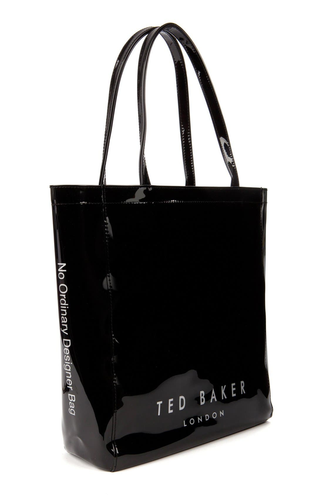 Alternate Image 3  - Ted Baker London 'Gemcon' Metallic Bow Tote