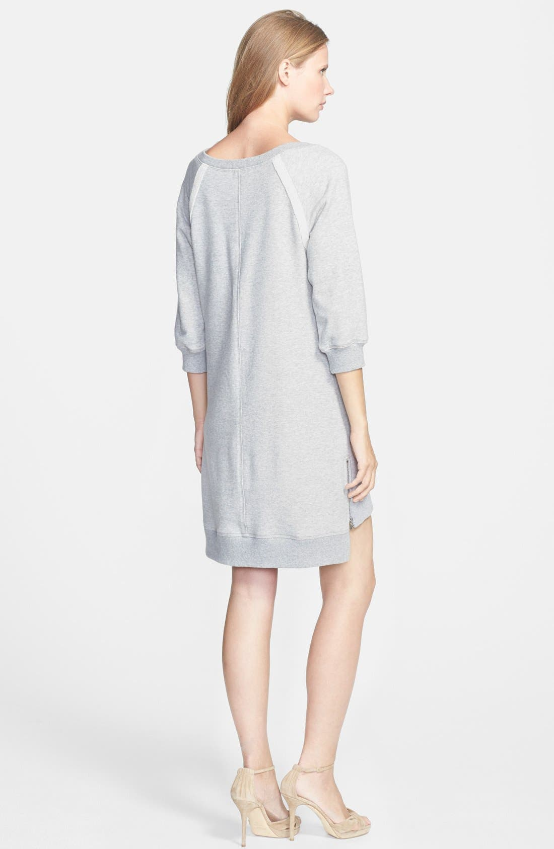 Alternate Image 2  - Trina Turk 'Venecia' Terry Sweatshirt Dress