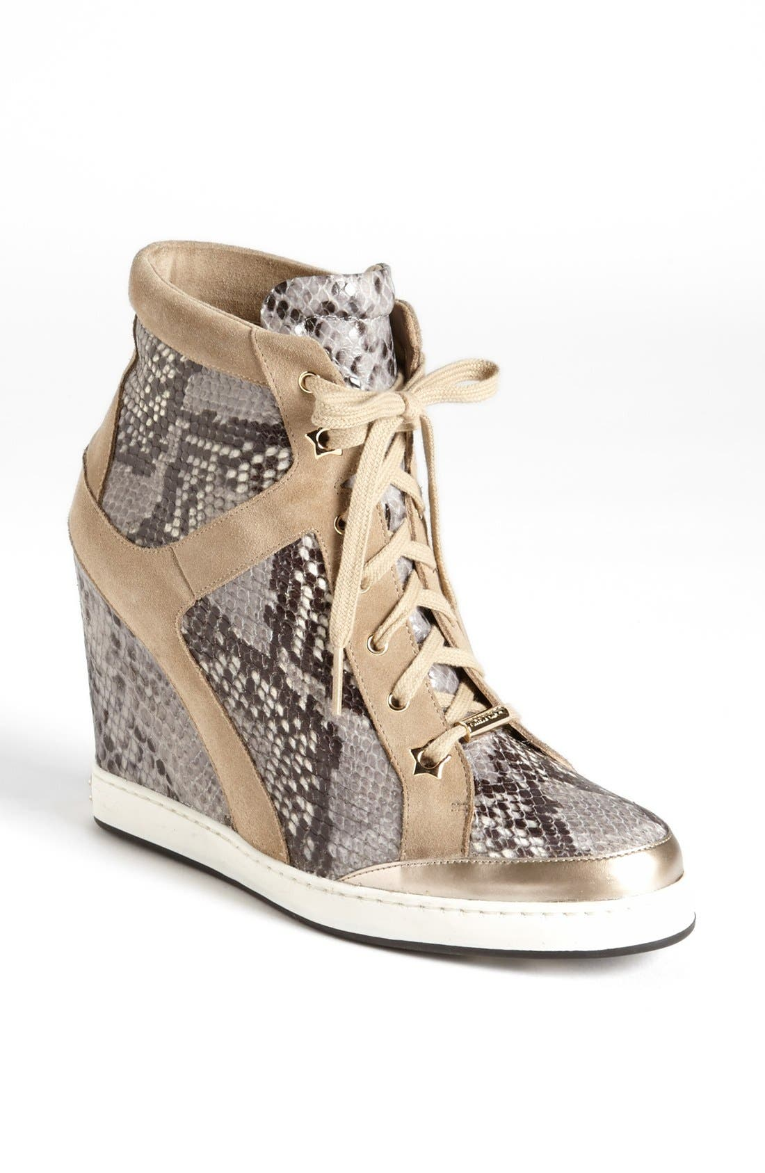 Main Image - Jimmy Choo 'Panama' Wedge Sneaker