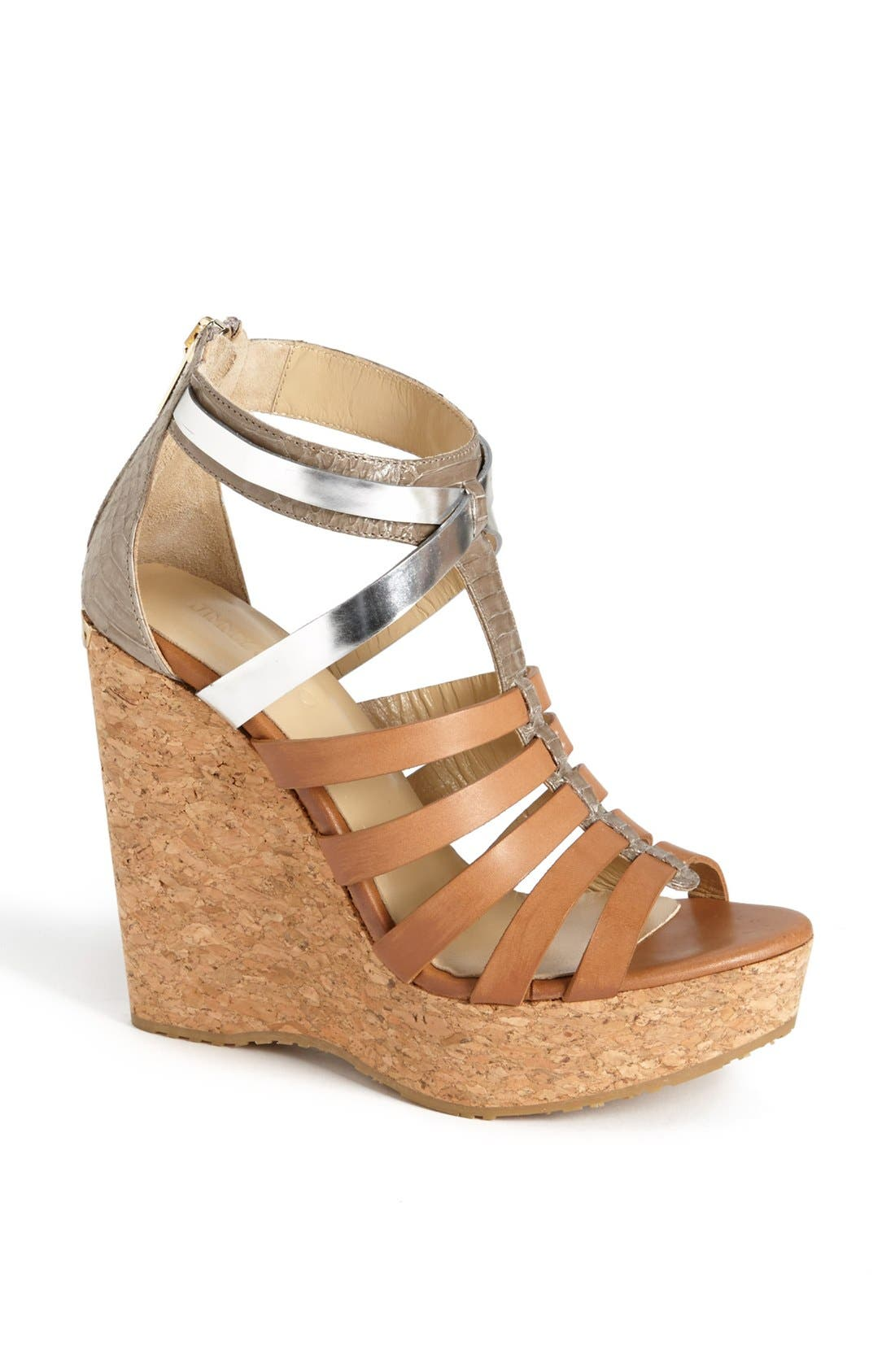 Alternate Image 1 Selected - Jimmy Choo 'Pierce' Wedge Sandal