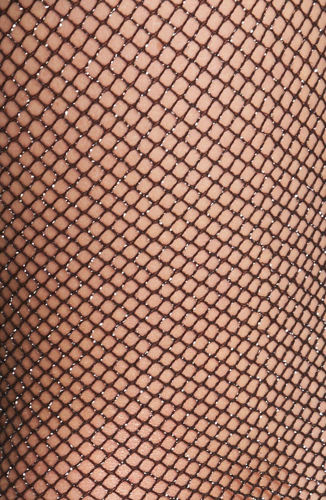 Alternate Image 2  - kate spade new york 'sparkle' fishnet stockings
