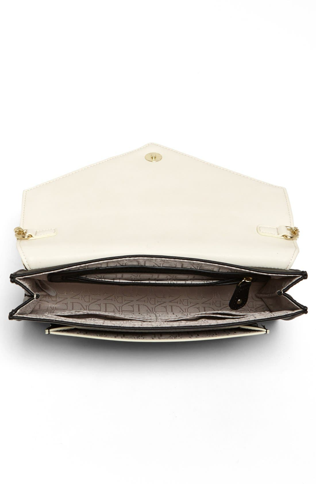 Alternate Image 3  - Danielle Nicole 'Jaida' Faux Leather Clutch