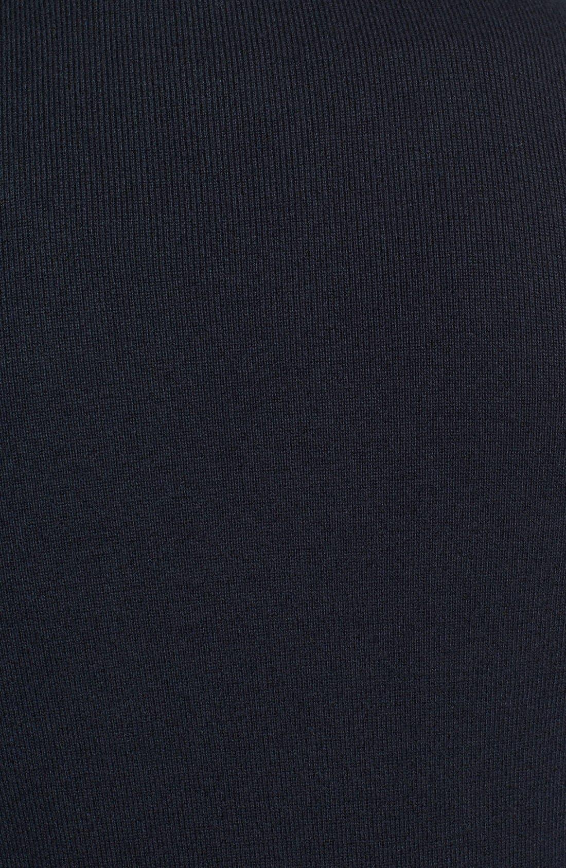 Alternate Image 3  - Façonnable Sweater Wool & Cotton Vest